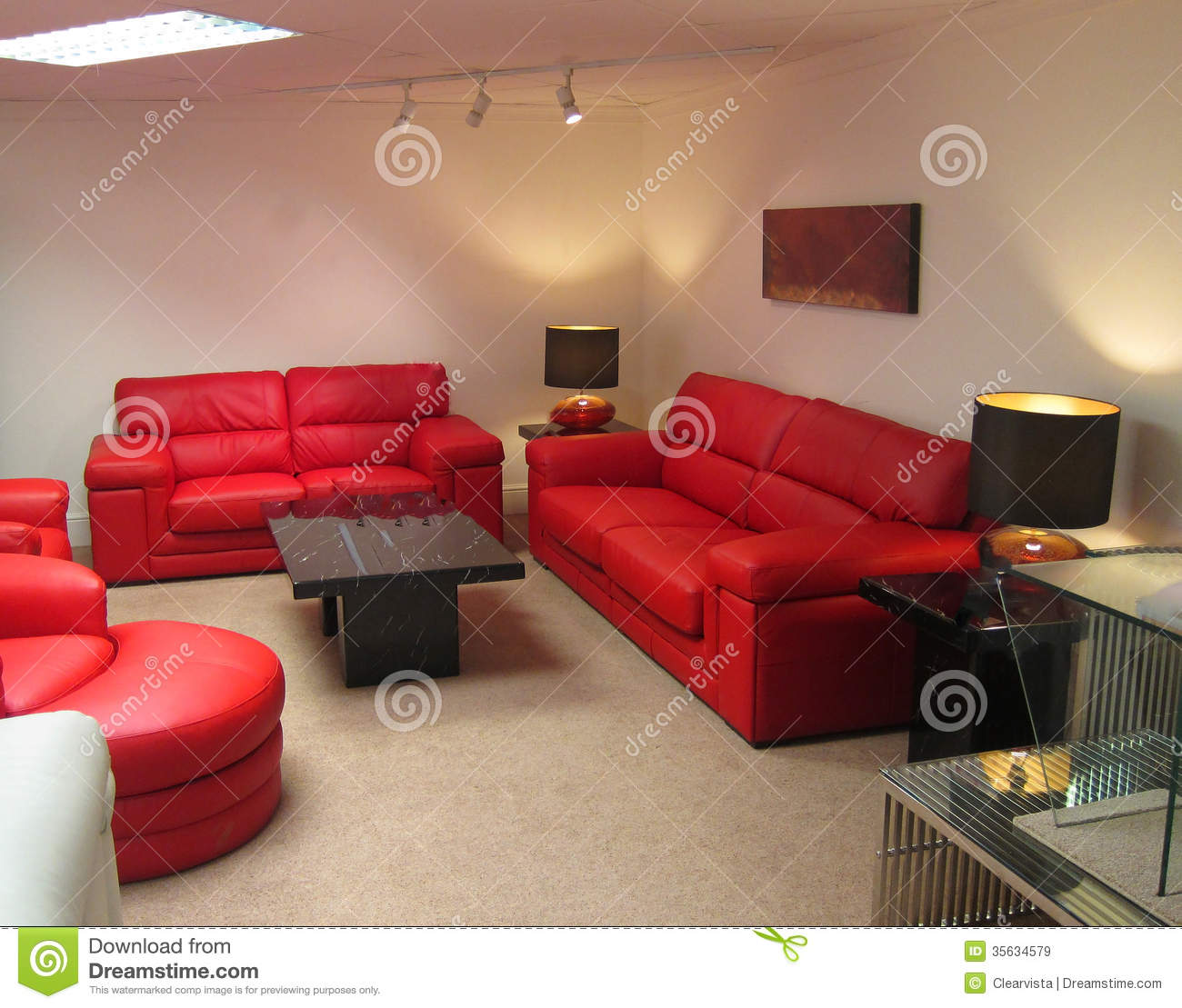 Modern lounge or living room royalty free stock images for Lounge sitting room