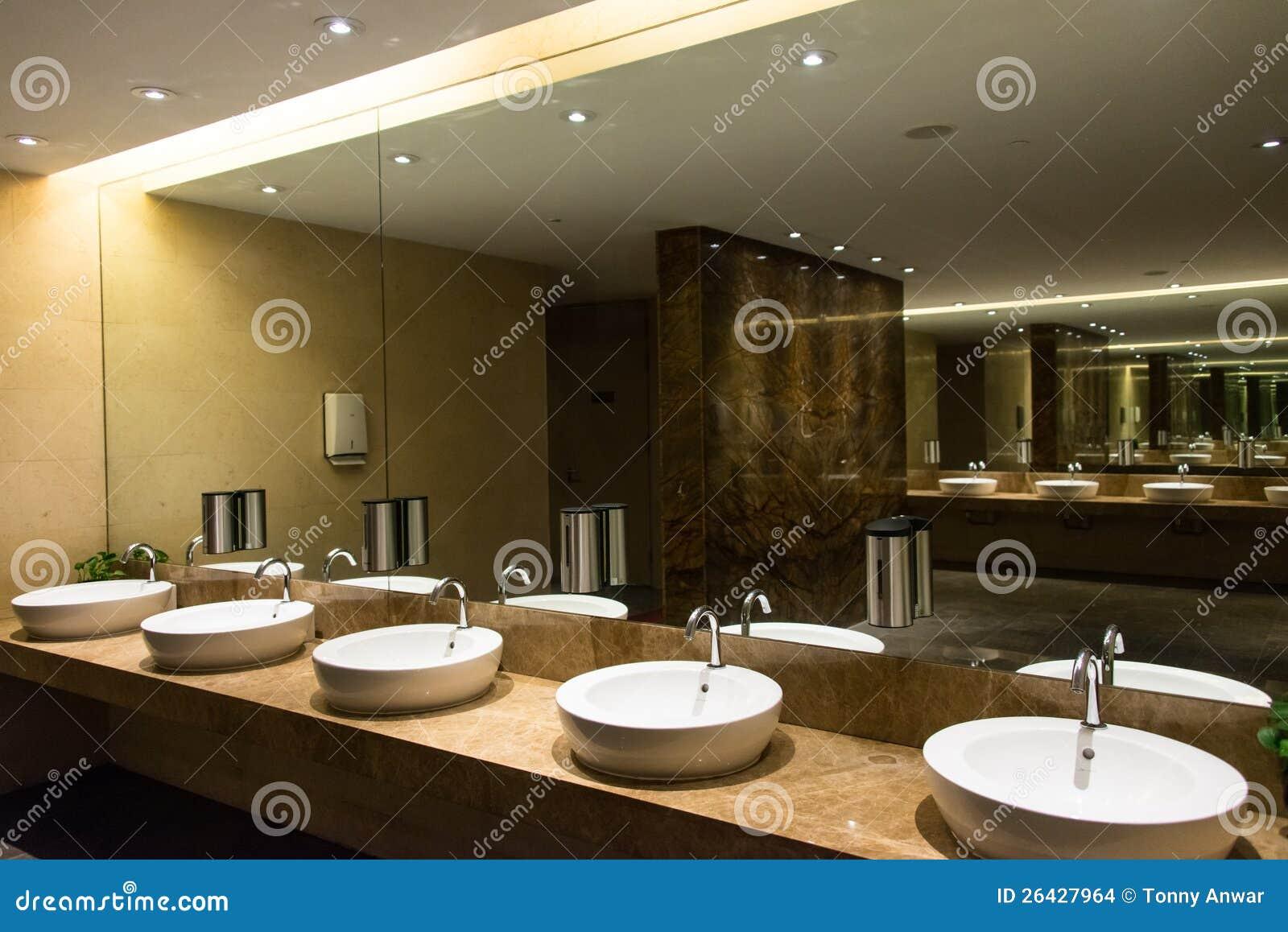 Modern luxurious washroom stock images image 26427964 for Modern washroom