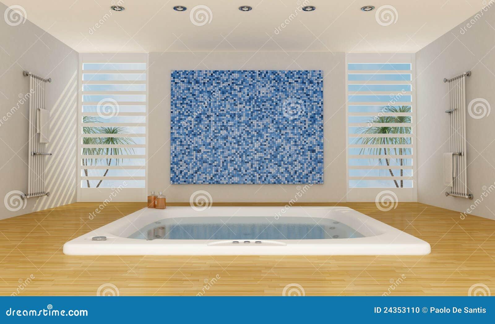 Modern Luxury Bathroom Stock Photo Image 24353110