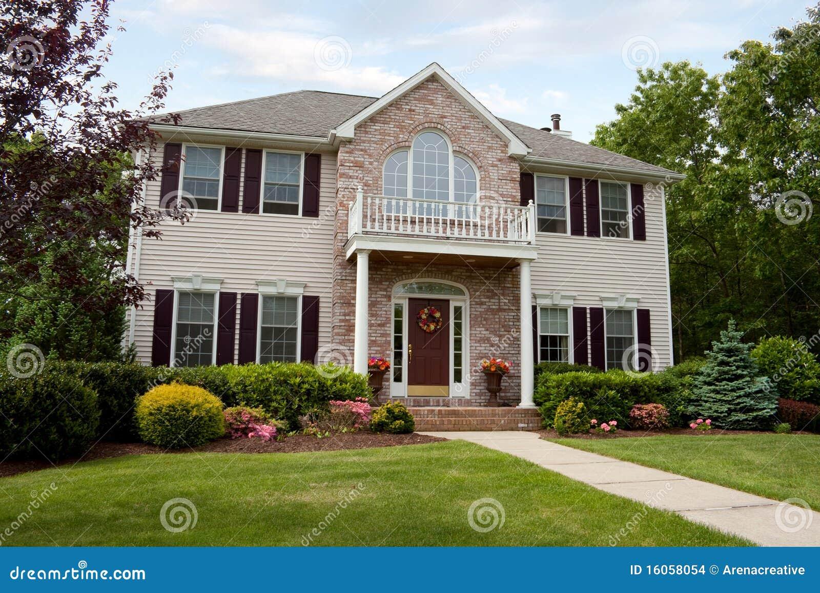 Modern Custom Built Luxury Home In A Residential Neighborhood This