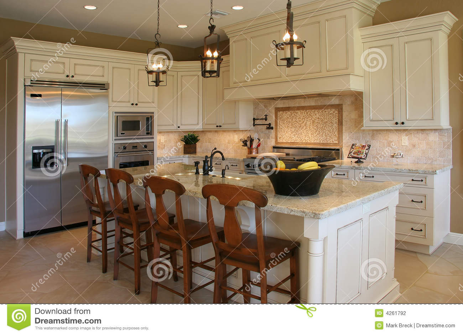 Modern luxury kitchen