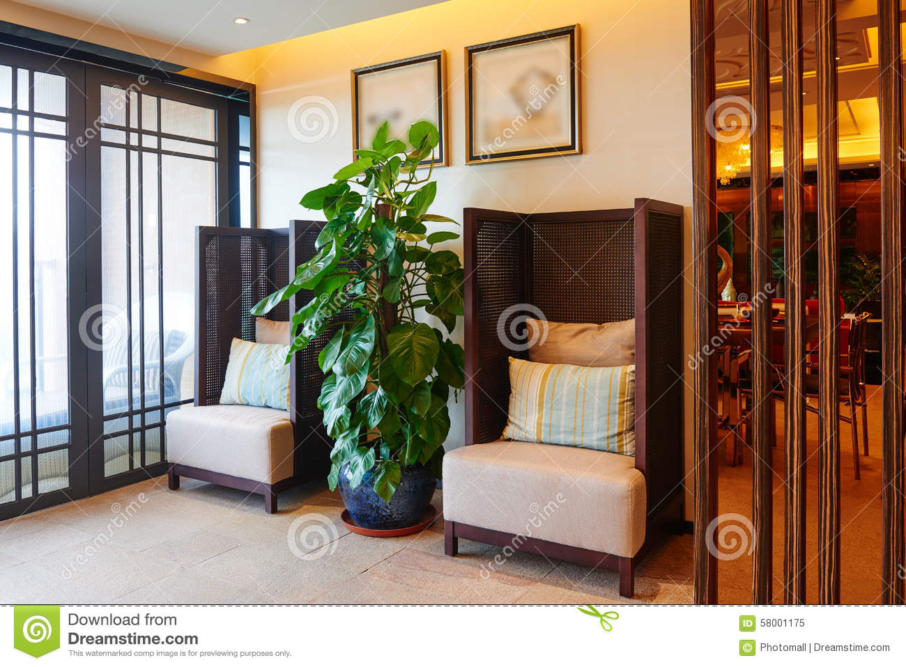 Living room modern chinese style royalty free stock photography 10135985 - Contemporary living room sets is essential style ...