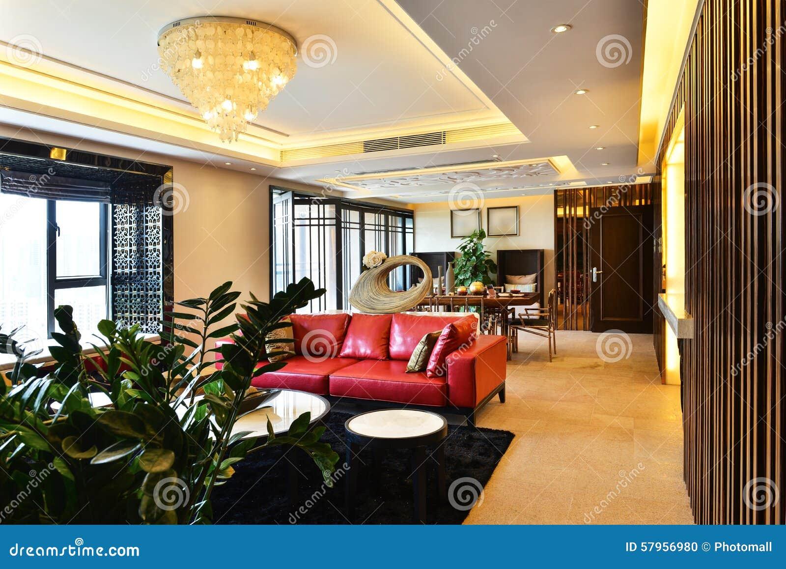 Modern Luxury Living Room Room Stock Photo Image 57956980