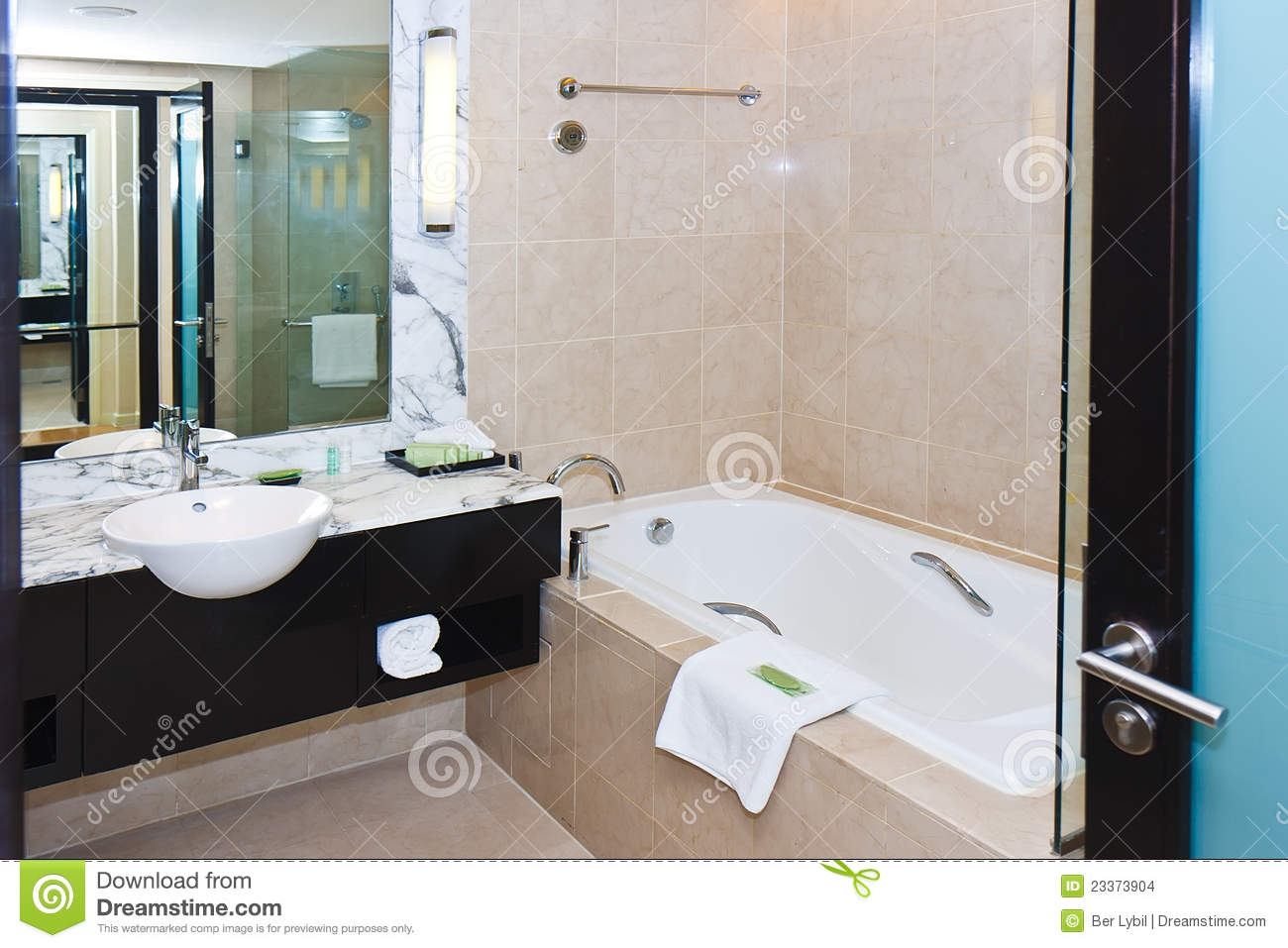 Modern Marble Bathroom Modern Marble Bathroom Stock Images Image 23373904