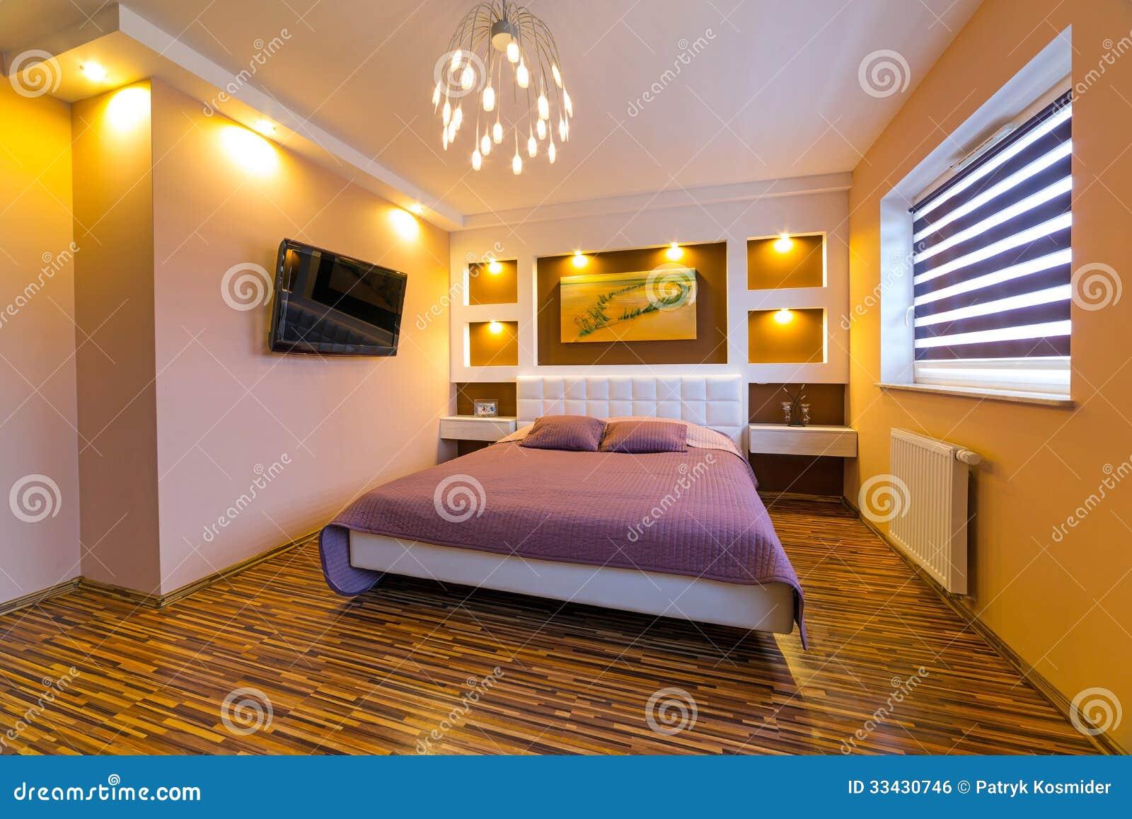 Modern master bedroom interior royalty free stock image image 33430746 - Modern house interior master bedroom ...