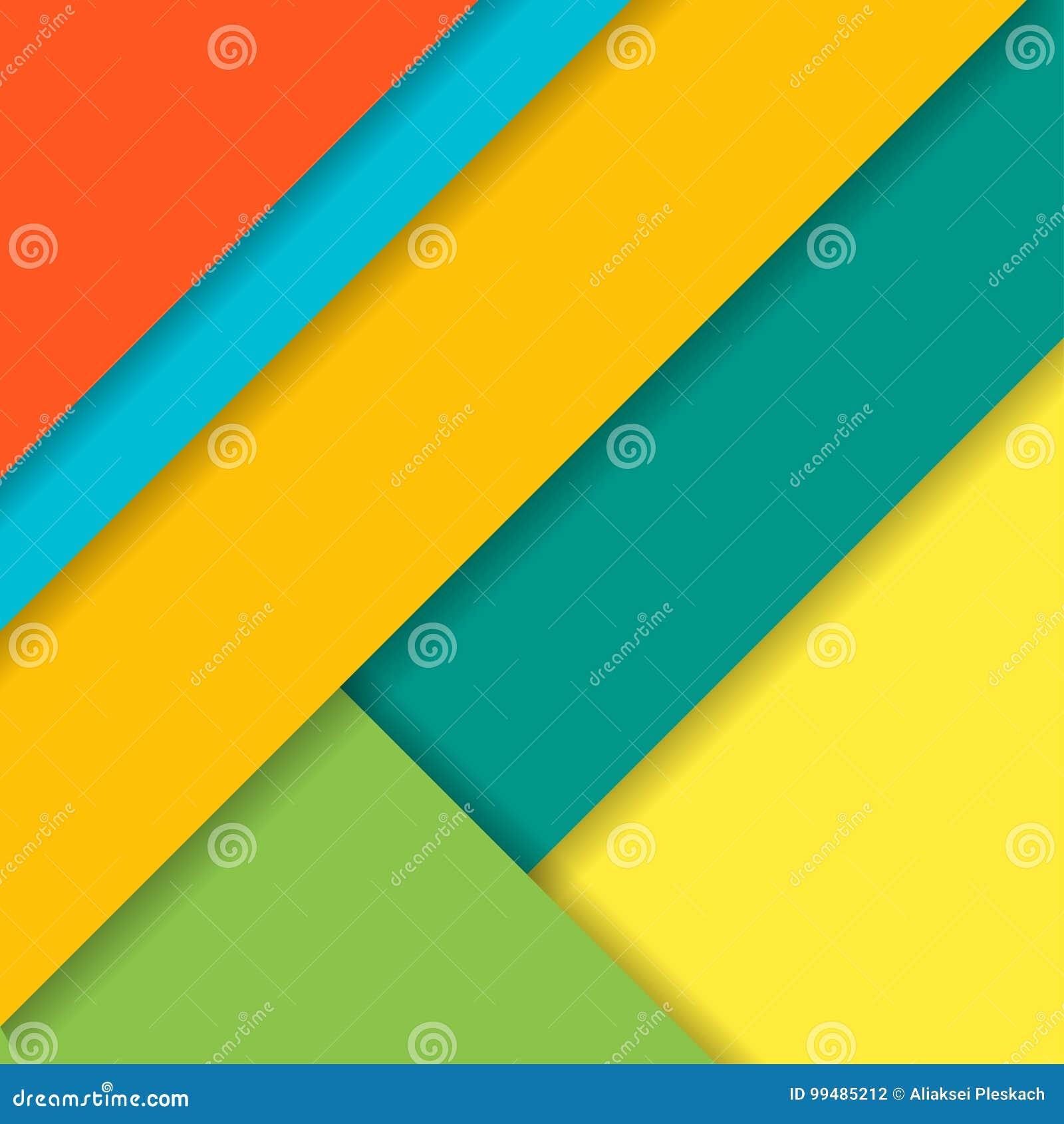 Modern materiell design för bakgrund också vektor för coreldrawillustration