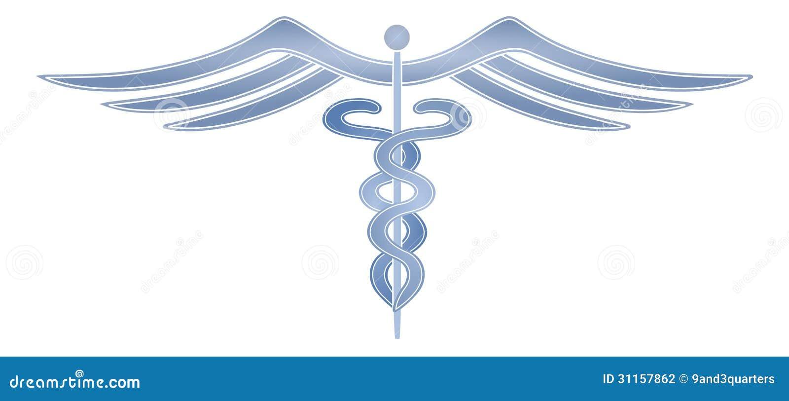 Modern Medical Cadeceus Stock Photography Image 31157862