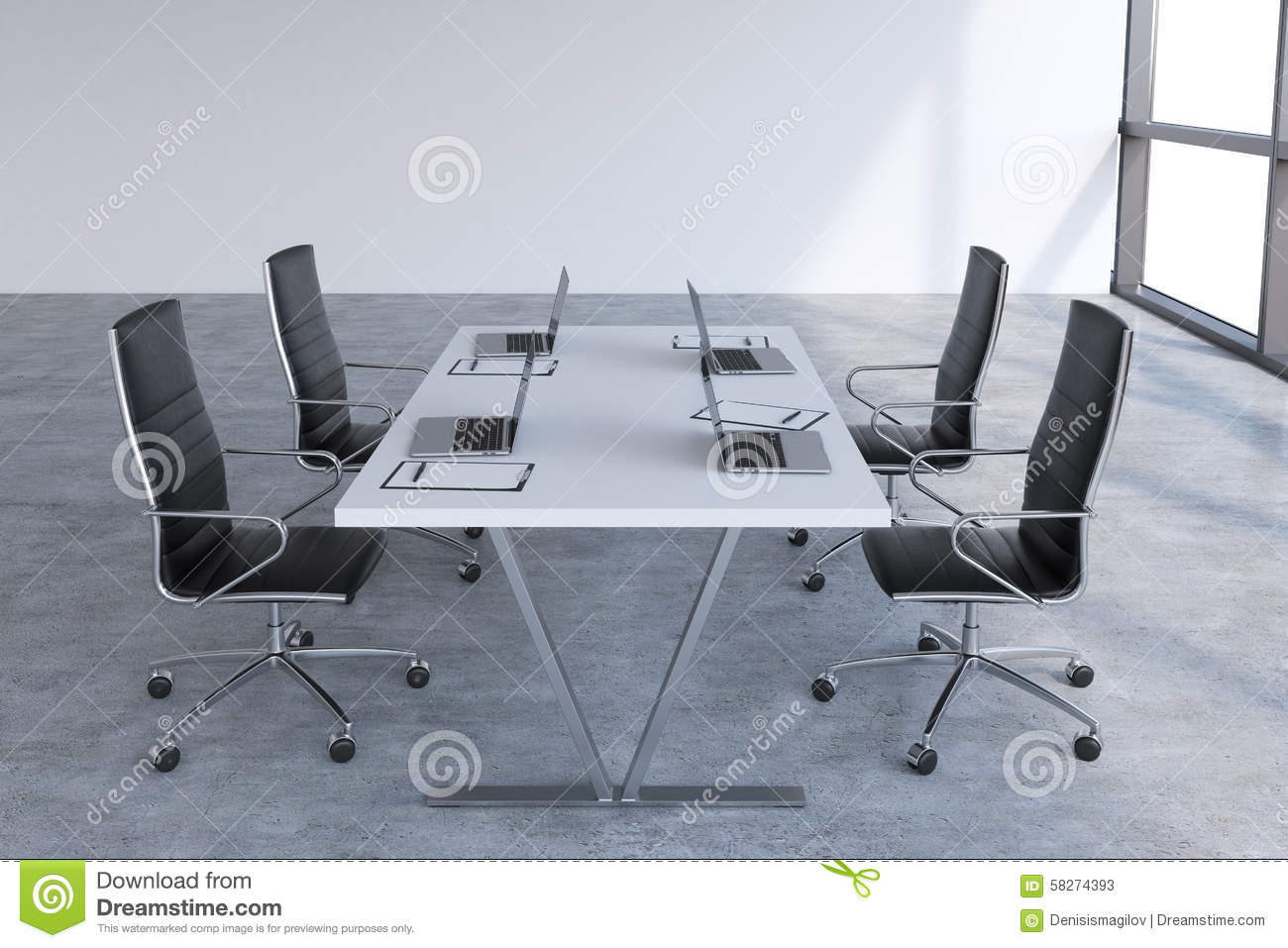 white conference room chairs  bedroom and living room image  - conference room with black table black chairs and laptops stock modernmeeting room with huge windows