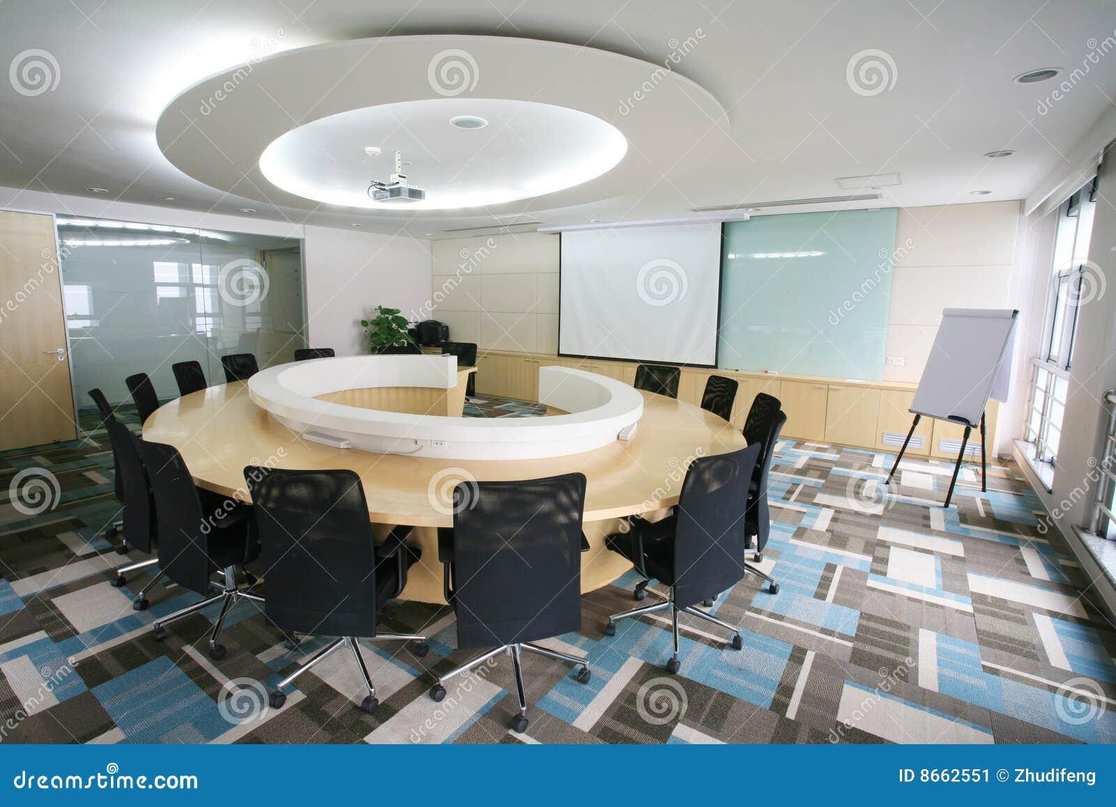 Modern Meeting Room Interior Stock Image Image 8662551