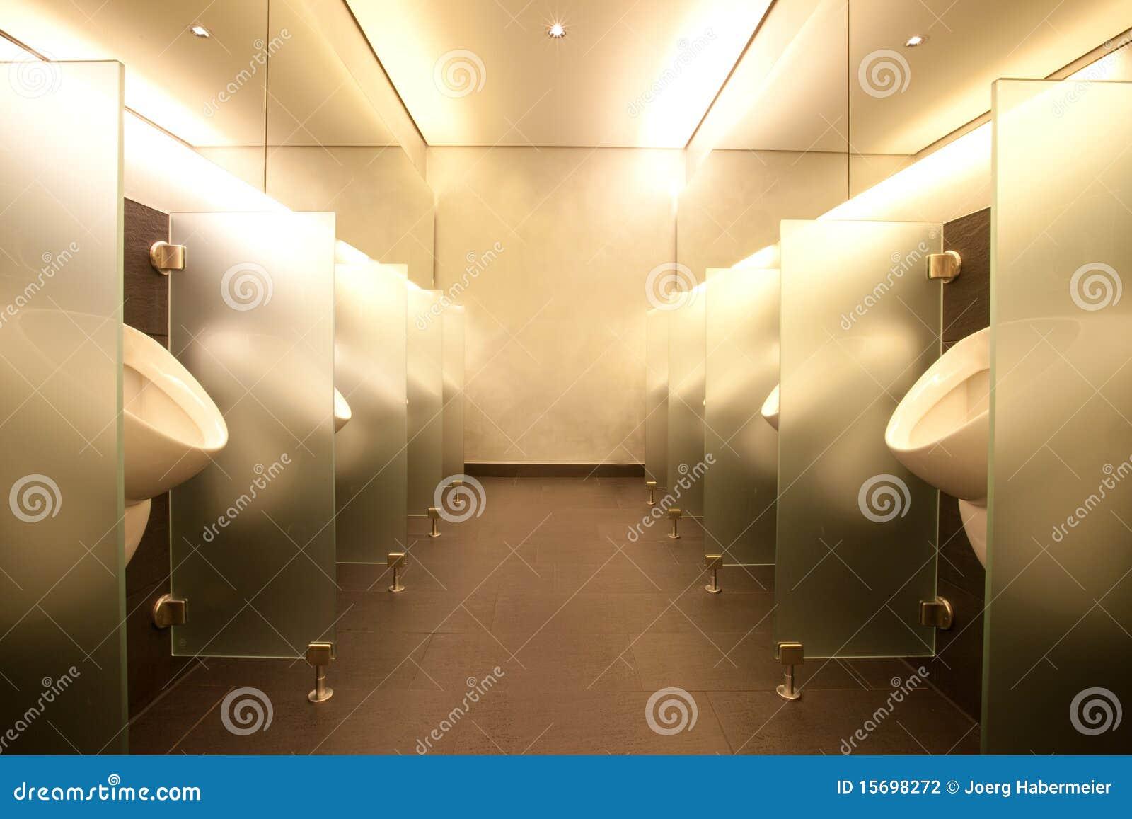 Modern Mens Club Bathroom Stock Photography Image 15698272