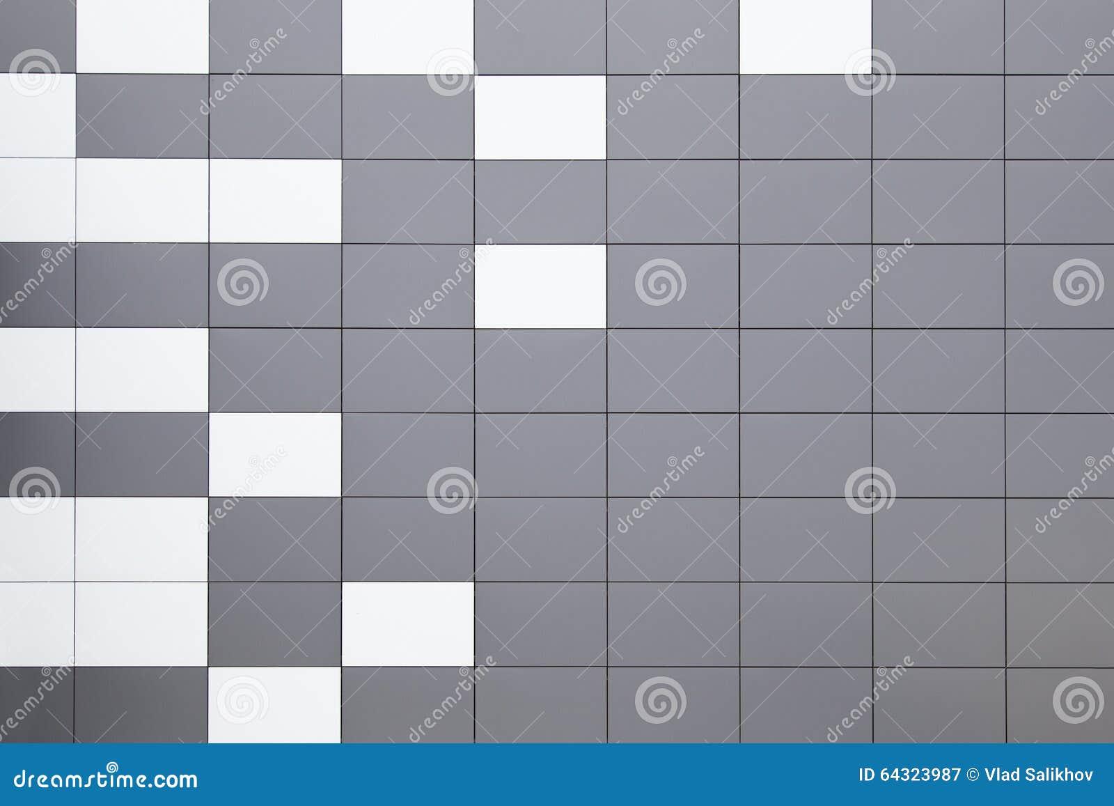 Modern Metal Facade Tiles Stock Image Image Of Paneling