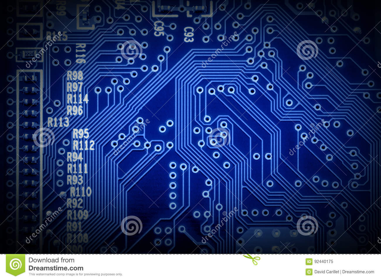 Modern Microchip Technology Background Of A Printed Circuit Board Production Buy Pcb Boardpcb Or