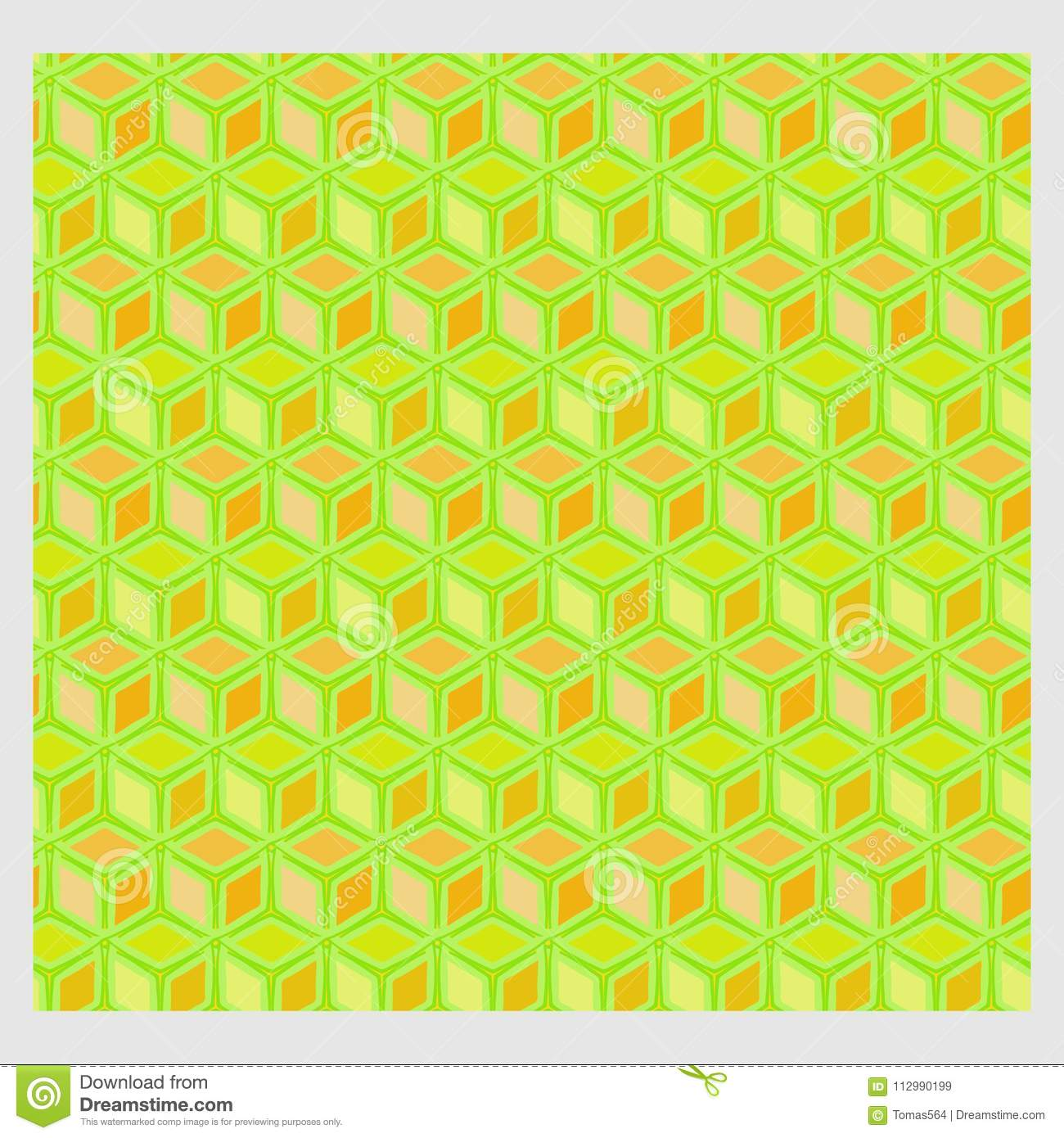 Netrivail abstract floral geometric pattern, background, vector seamless