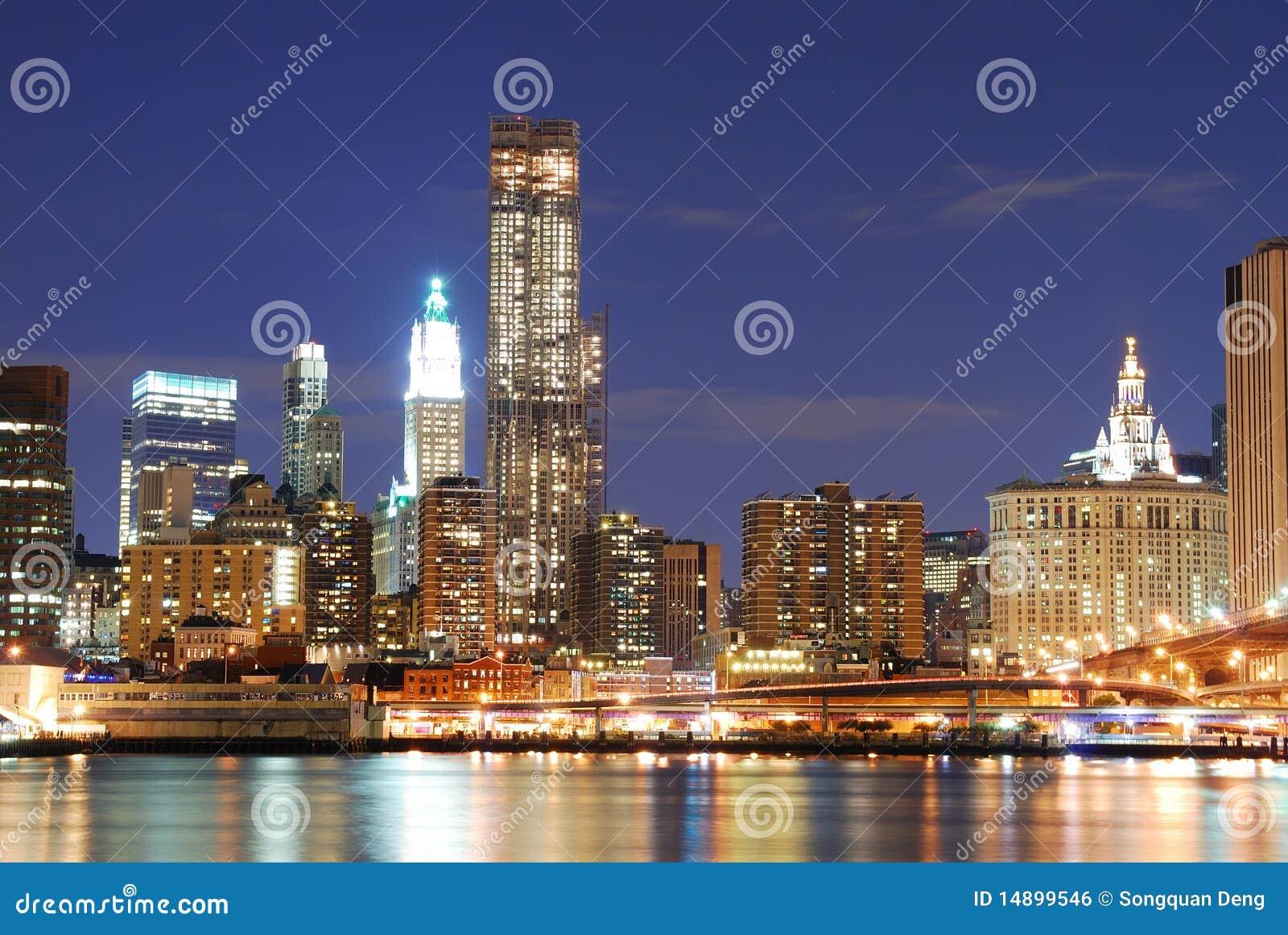 modern new york city skyline royalty free stock image image 14899546