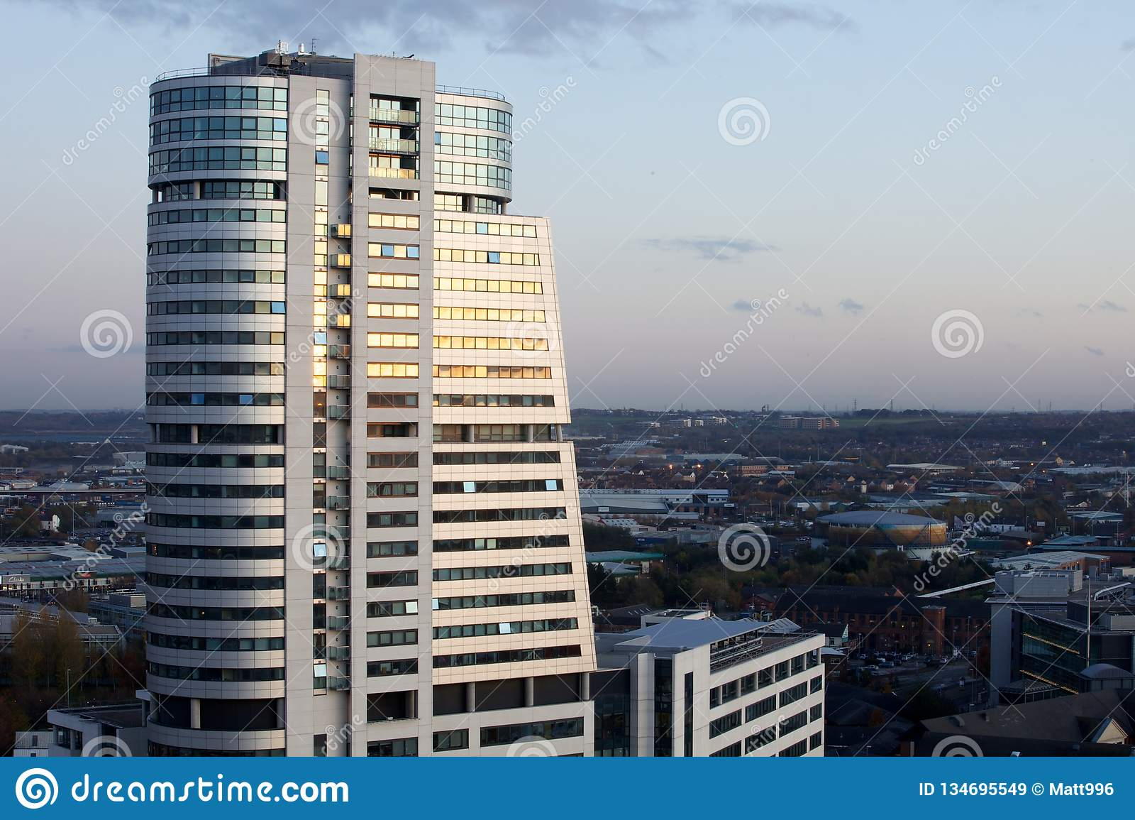 Modern Northern European CIty architecture
