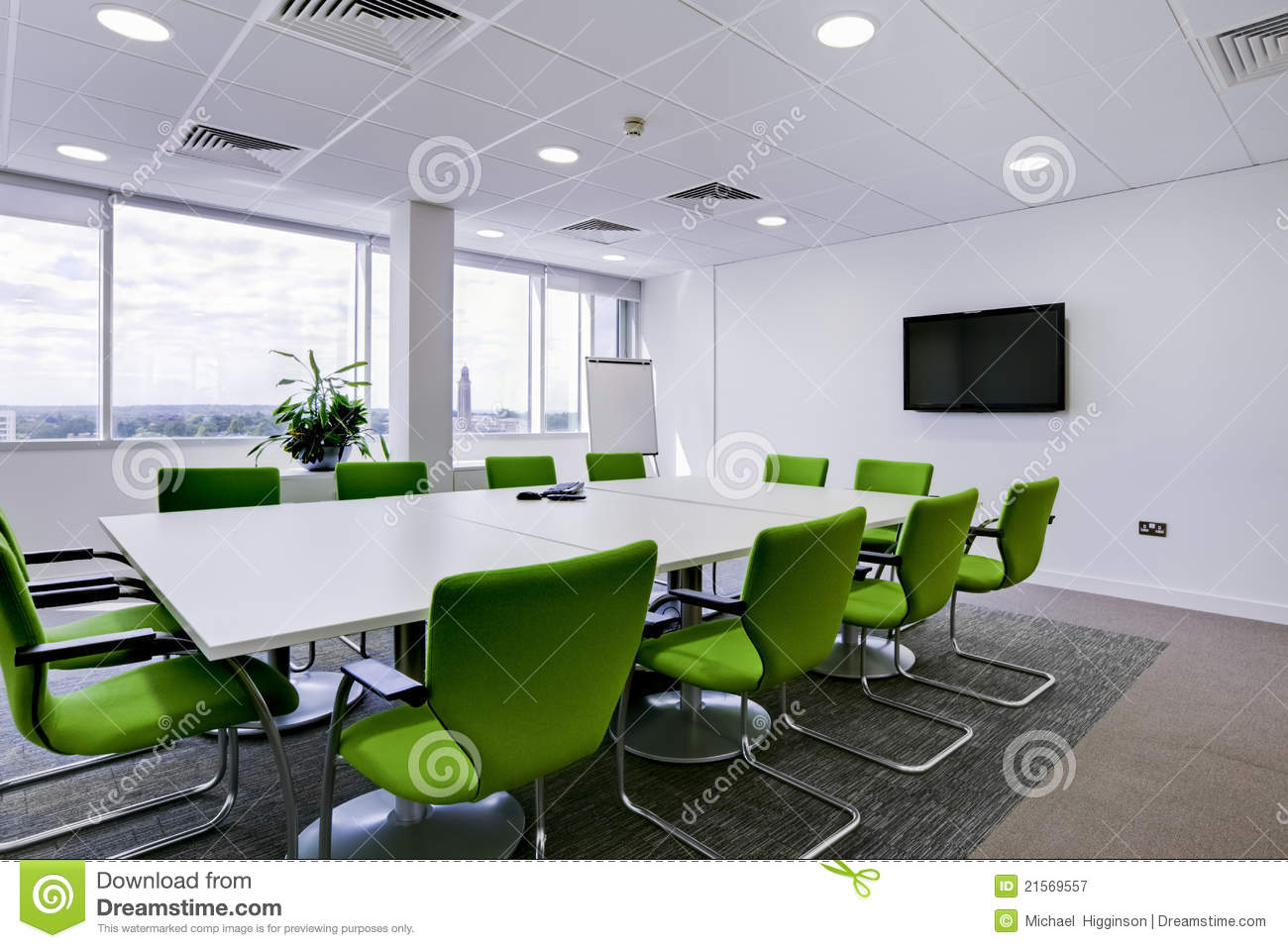 Modern office boardroom stock image image of white for Office images