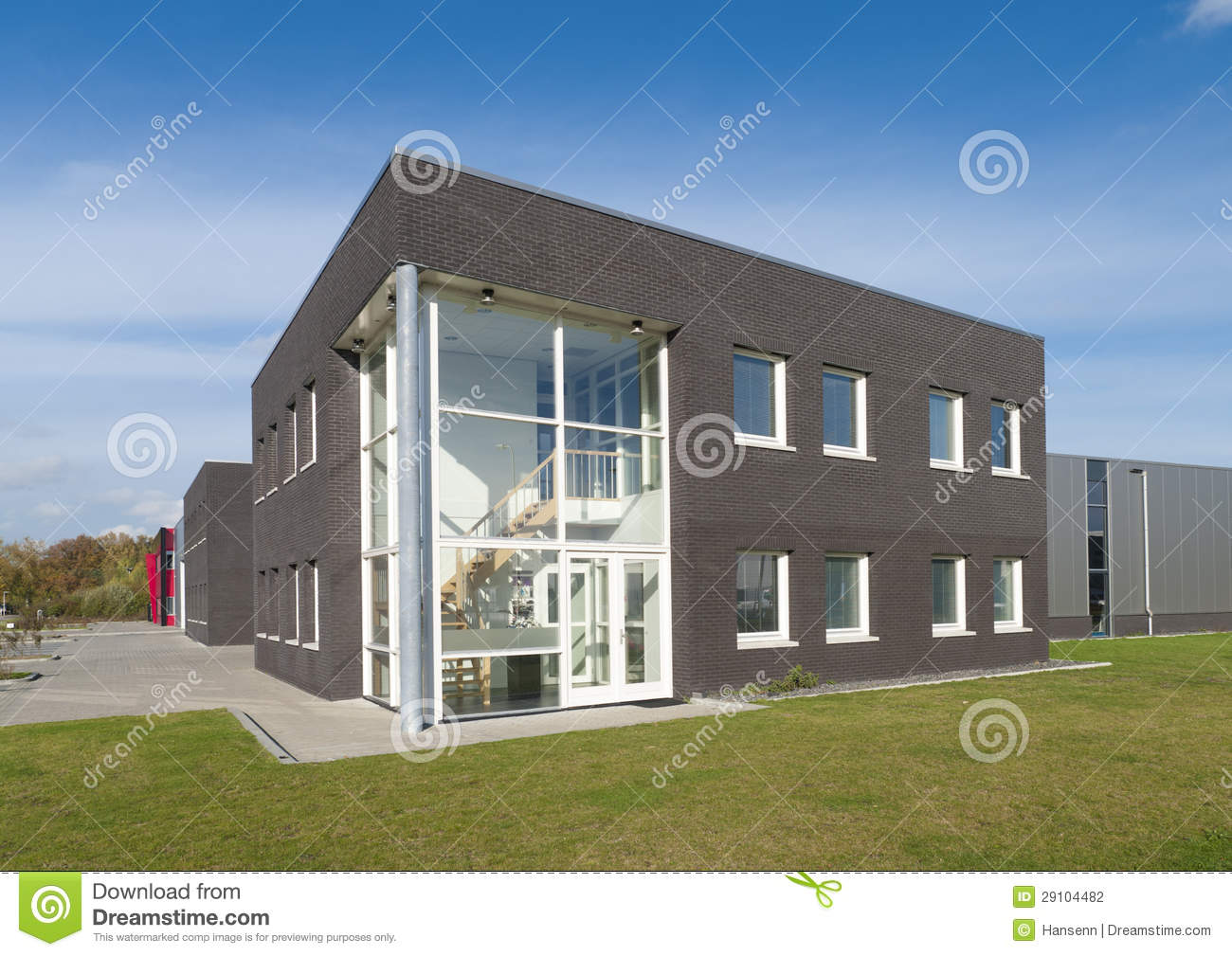 Modern Office Building Stock Photography Image 29104482
