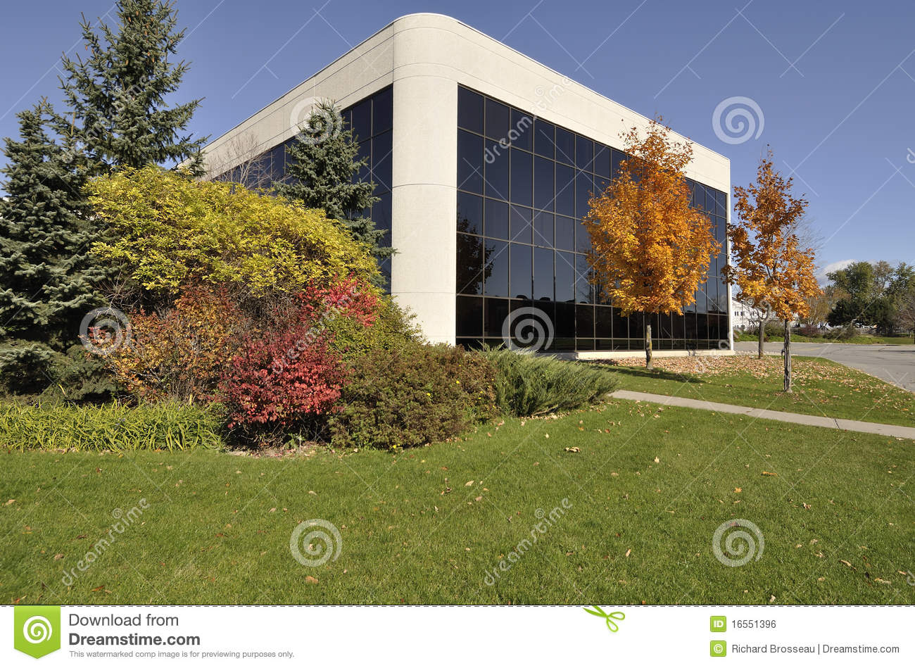 modern office building with beautiful landscaping beautiful office building