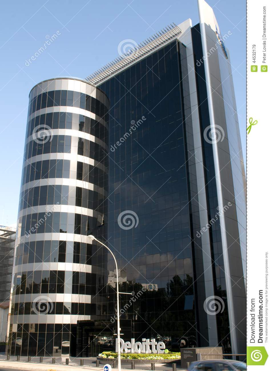 Modern Office Building Deloitte Nicosia Cyprus View High Rise Buildings Provides Full Range Services Audit Tax