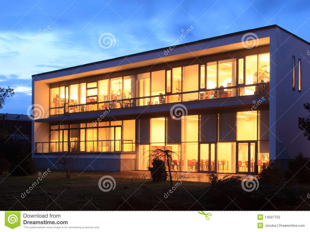 Modern office building exterior stock photography image for Modern office exterior design
