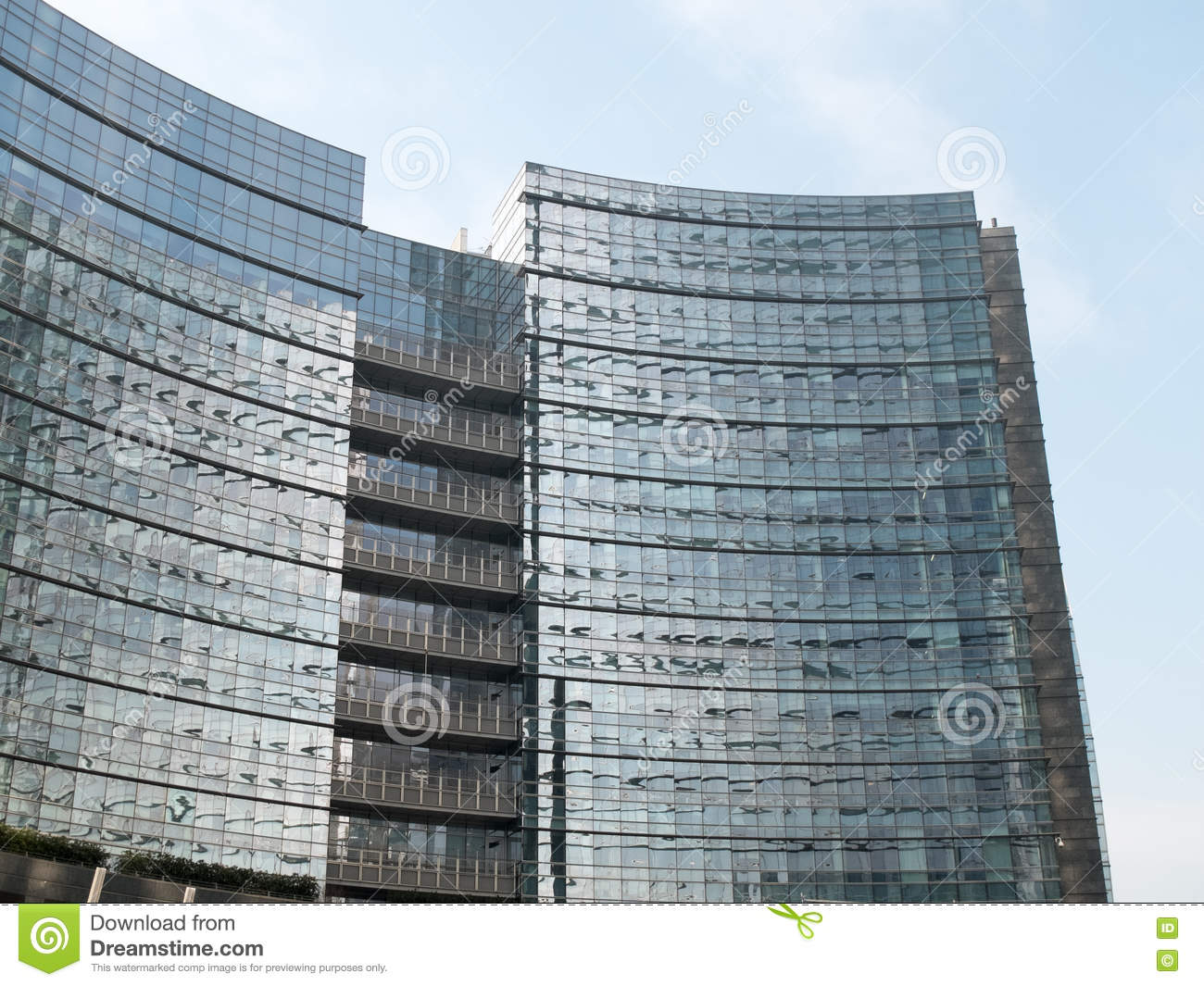 glass exterior modern office. Download Modern Office Building With Glass Exterior Stock Image - Of Urban, City: R