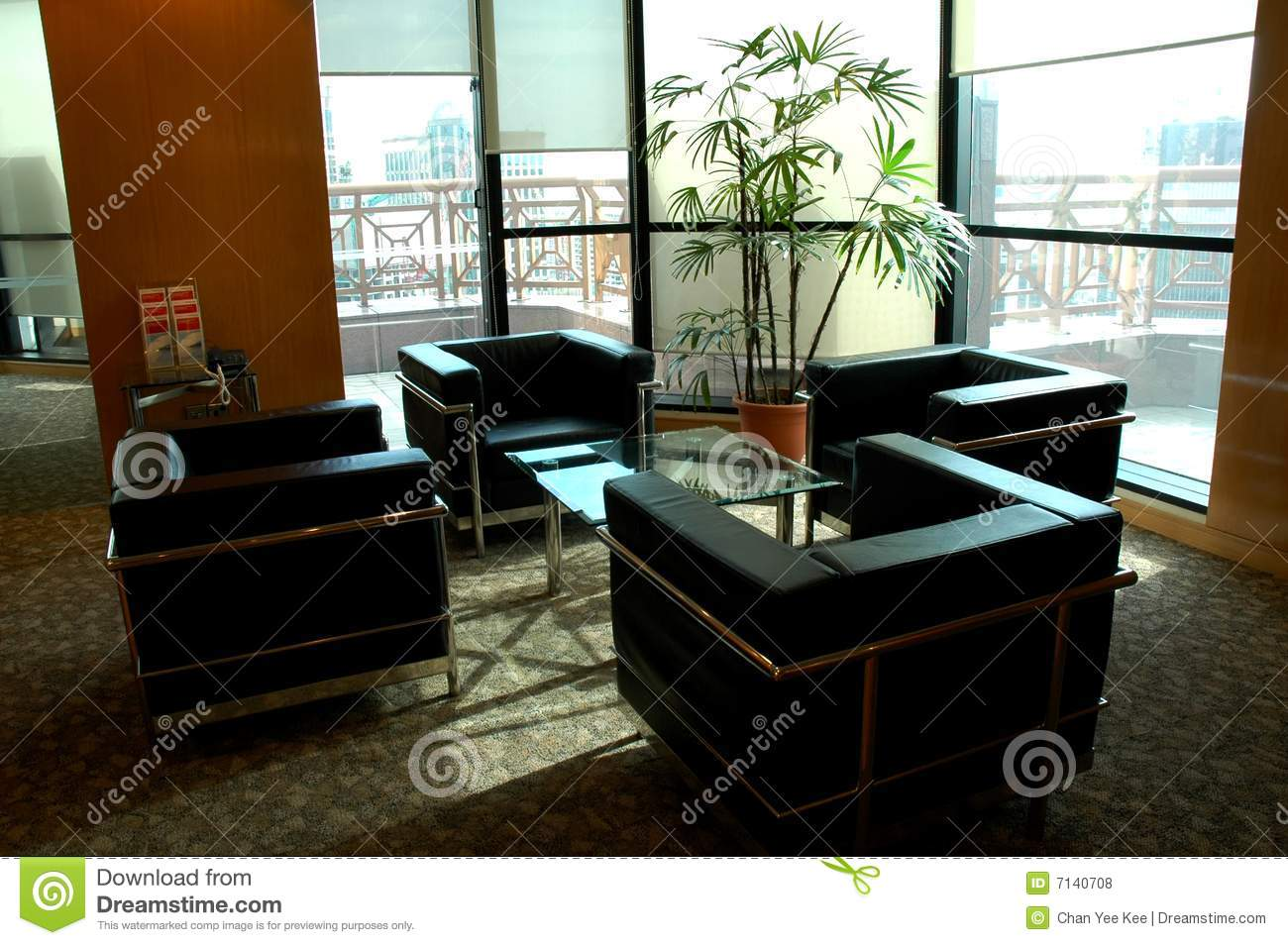 Modern office building interior royalty free stock photos for Modern office building interior