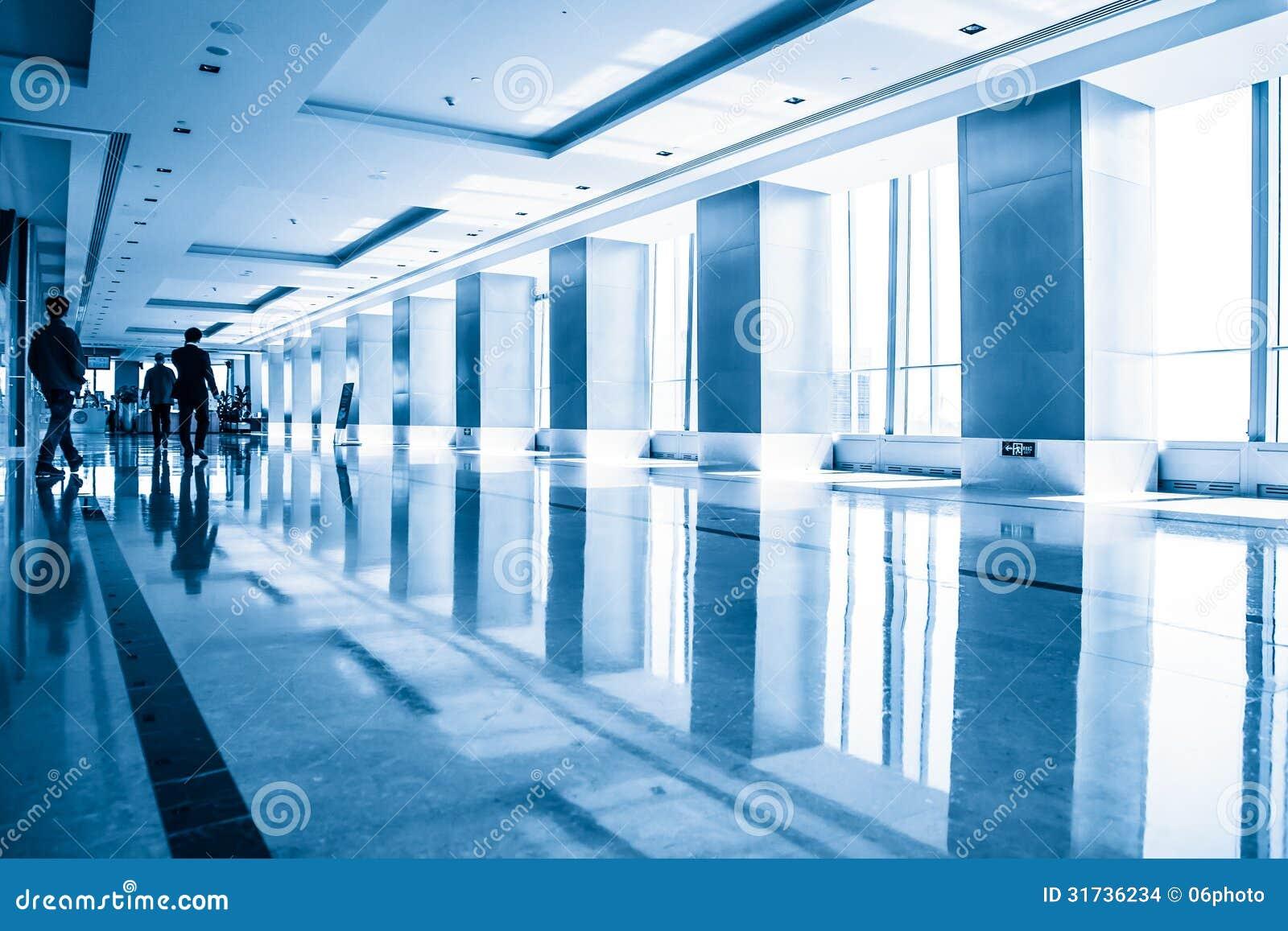 Building interior silhouette stock photo cartoondealer for Modern office building interior