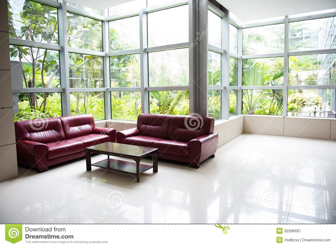 Modern office building stock image image 32596681 for Sofa table near me