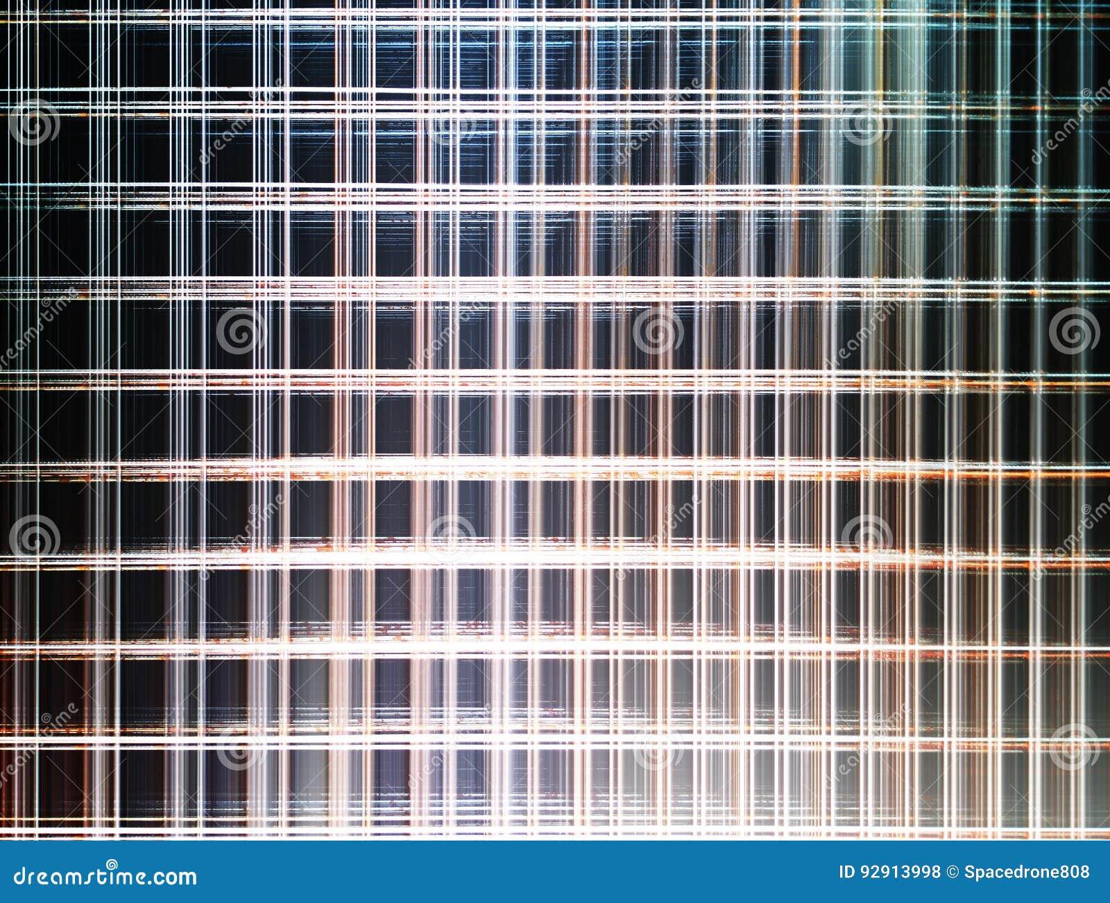 Modern Office Cyberpunk Illustration Background Stock Illustration