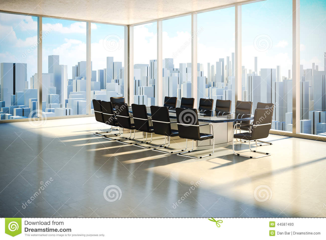 Modern office interior stock illustration illustration of for Office images