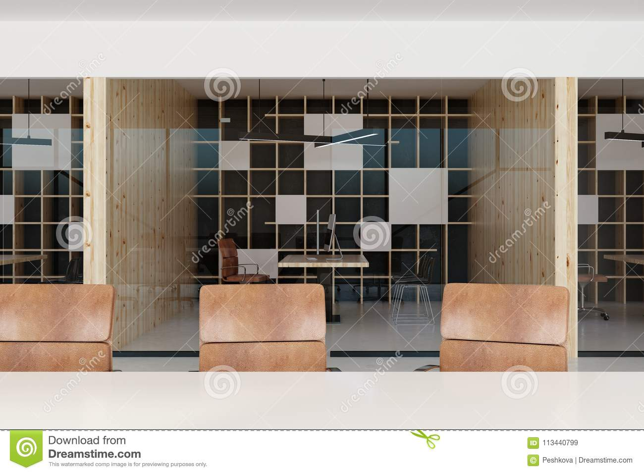 modern office interior stock image image of conference 113440799