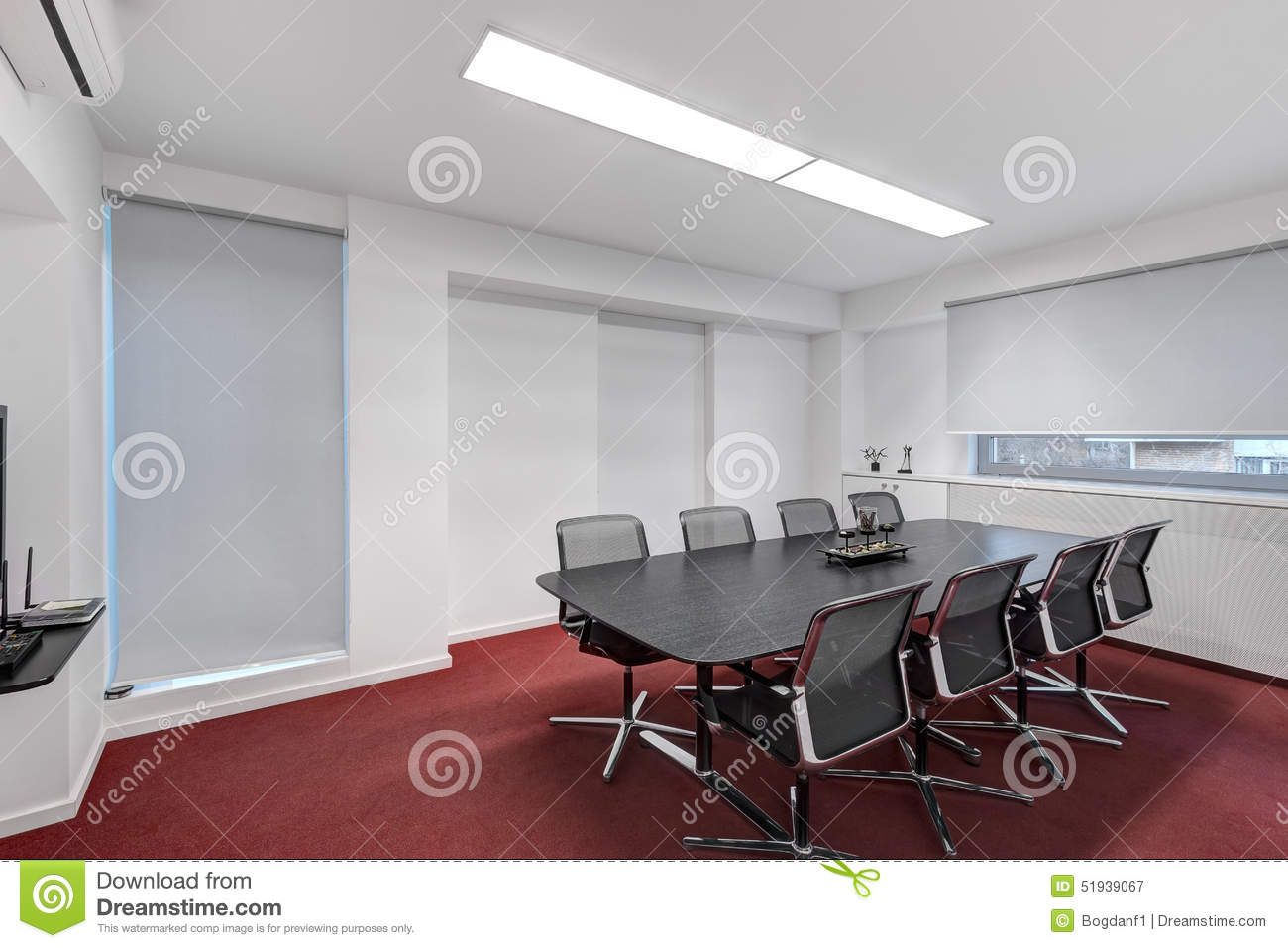 Red conference room chairs - Royalty Free Stock Photo Download Modern Office Meeting Room