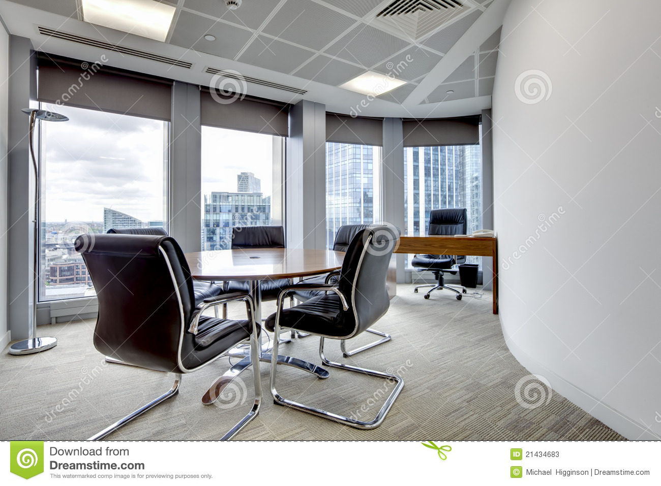 Modern Office Meeting Room Interior Stock Photos Image 21434683