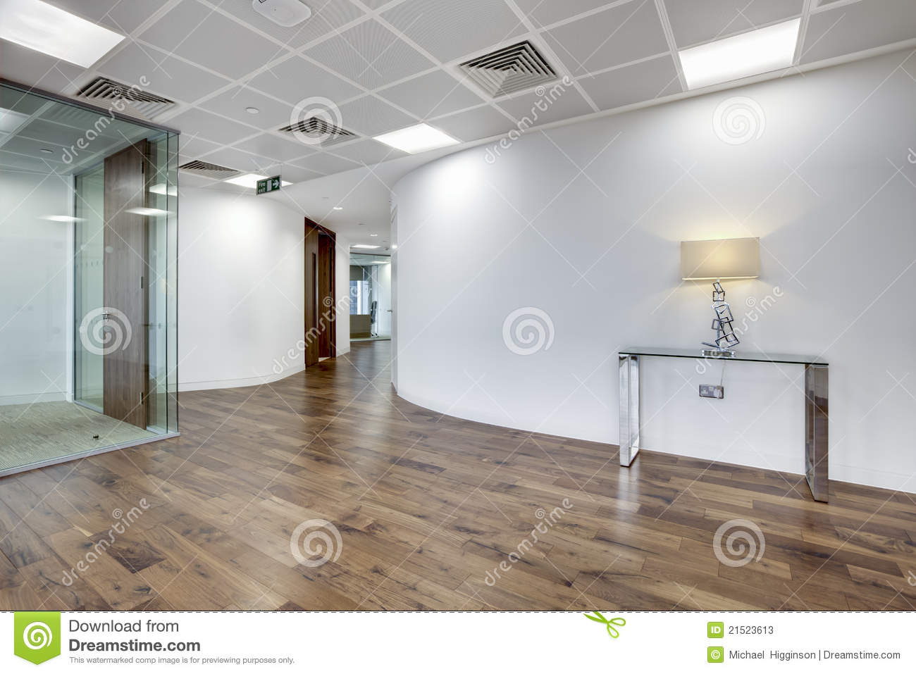 Modern office reception area stock image image 21523613 for Modern office area