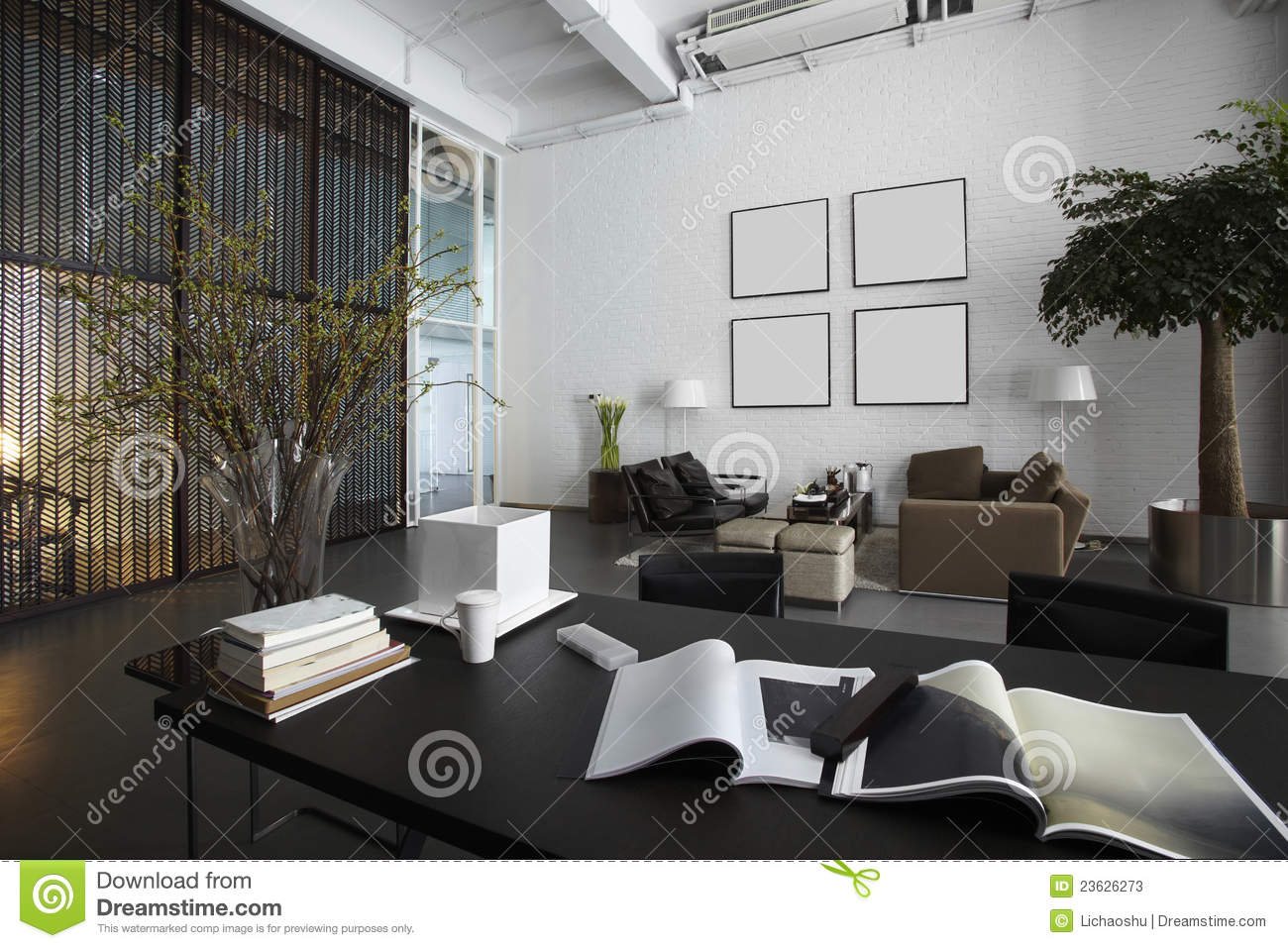 modern office plans. modern office floor plans by space stock photos image 23626273