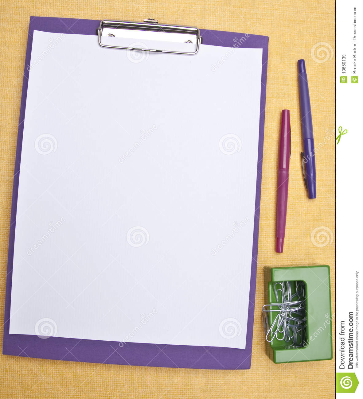 Modern Office Supplies Royalty Free Stock Images Image