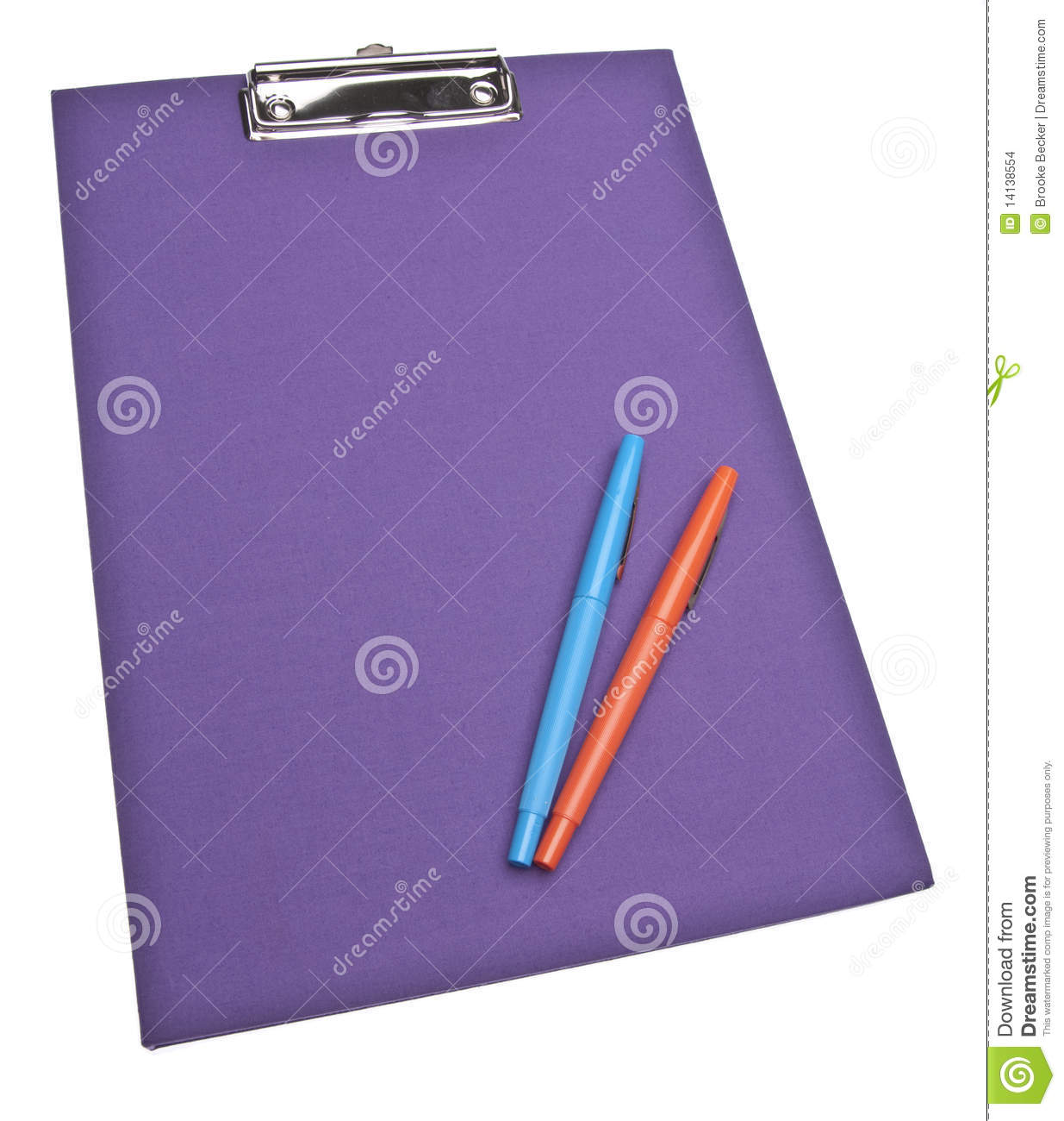 Modern Office Supplies Stock Images Image 14138554