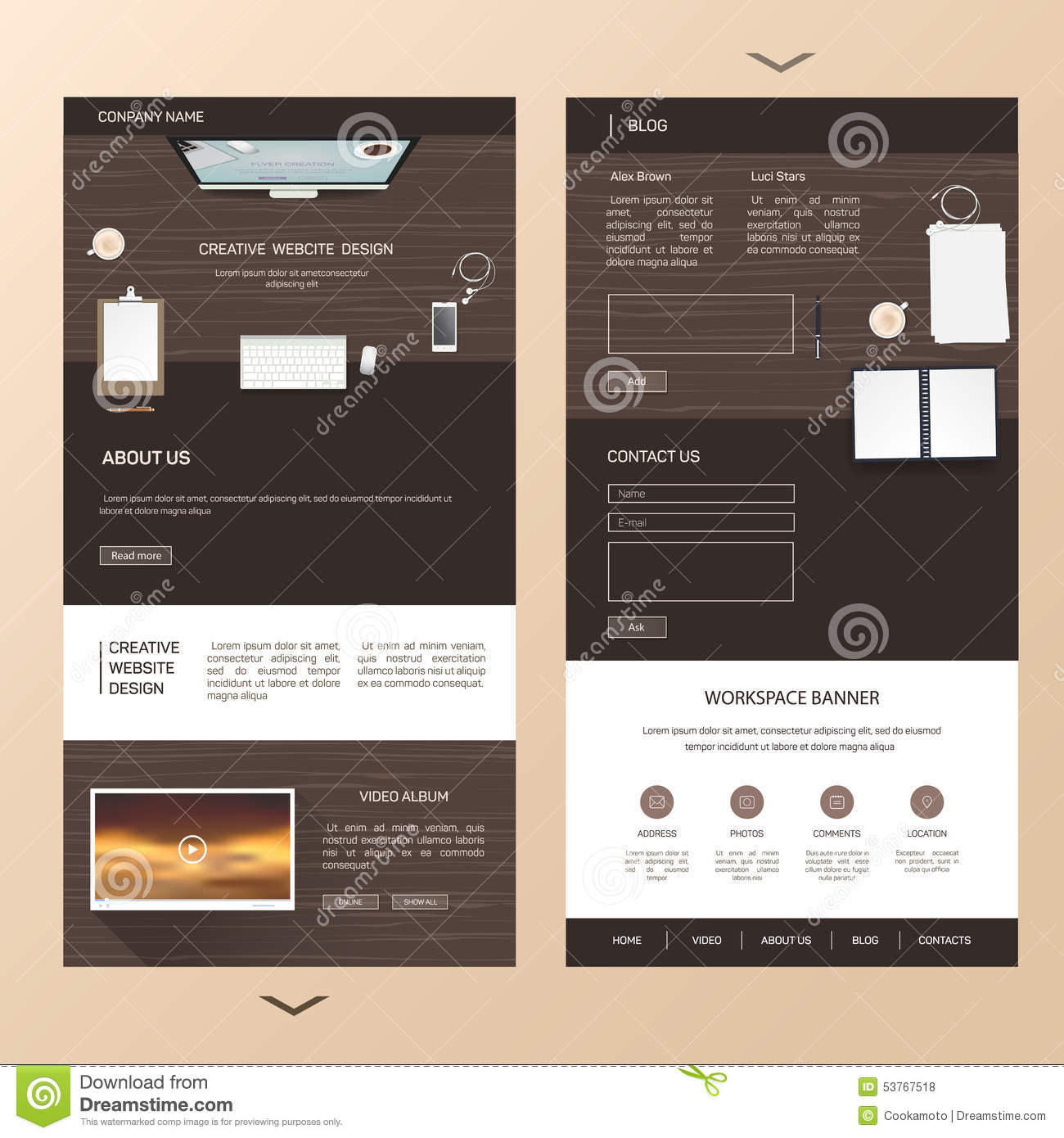 brochure design tea 15 preview