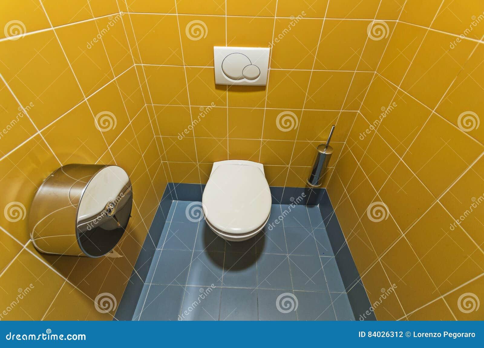 Modern openbaar toilet stock foto afbeelding bestaande uit kleur