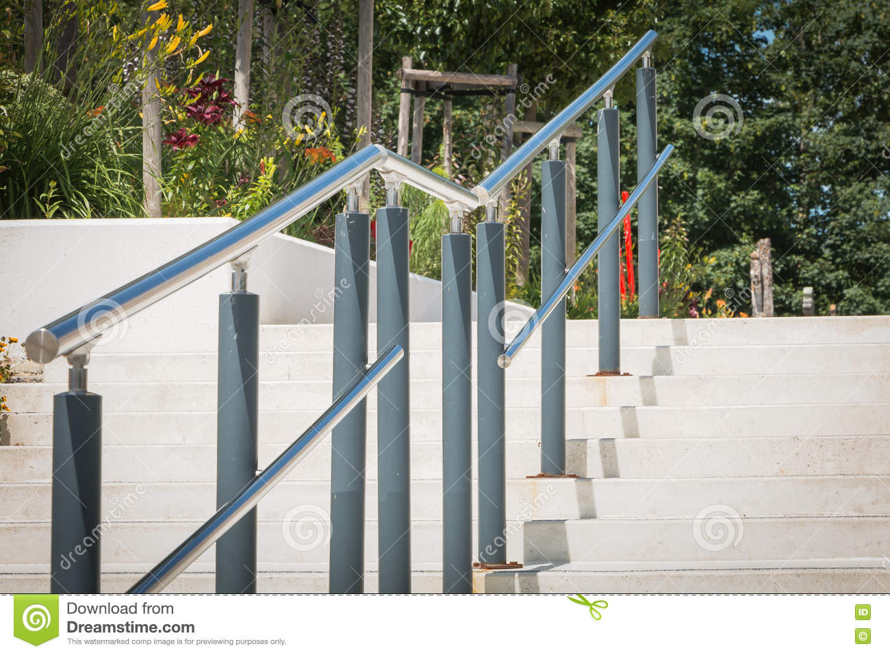 Modern outside stairs stock photo image of stair for Escaleras exteriores