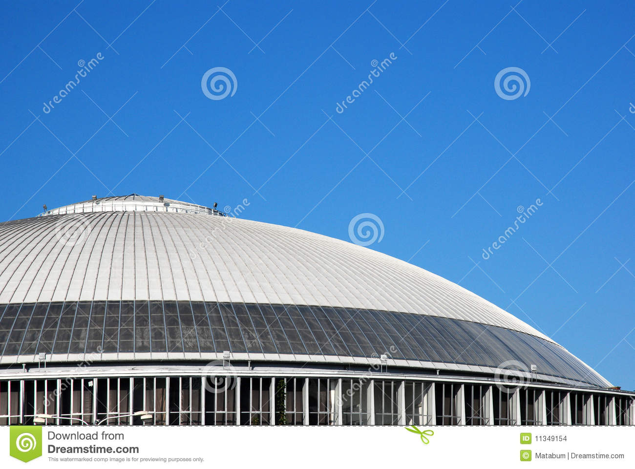 modern oval roof stock illustration  image of event  open