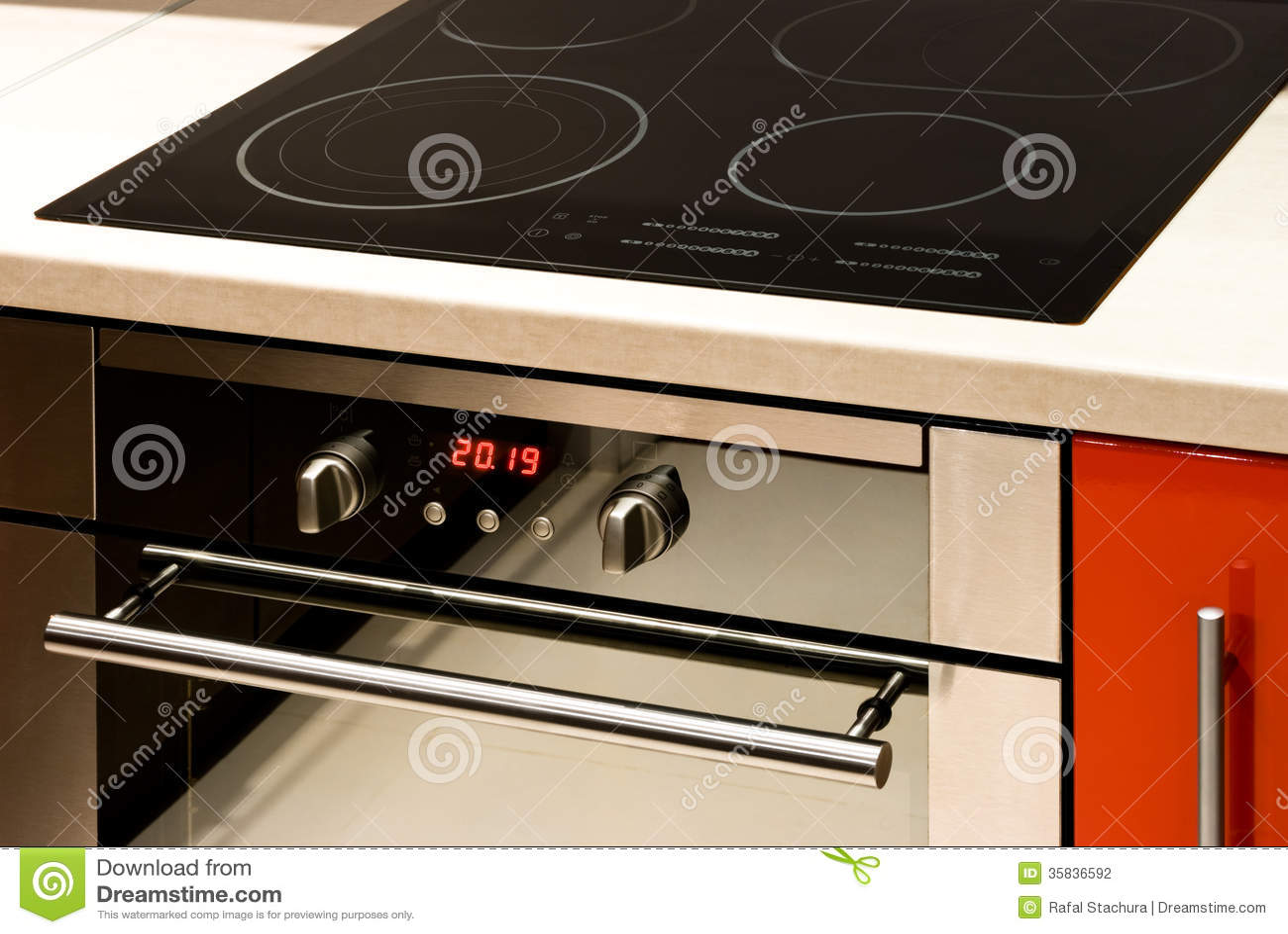 Modern Oven stock phot...