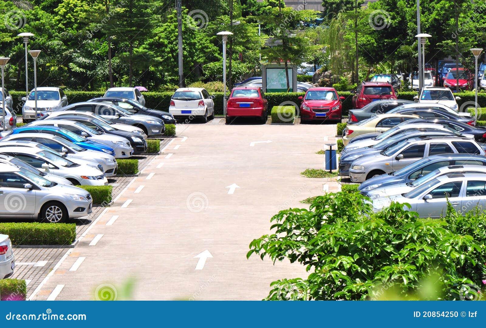 Modern Parking Lot S