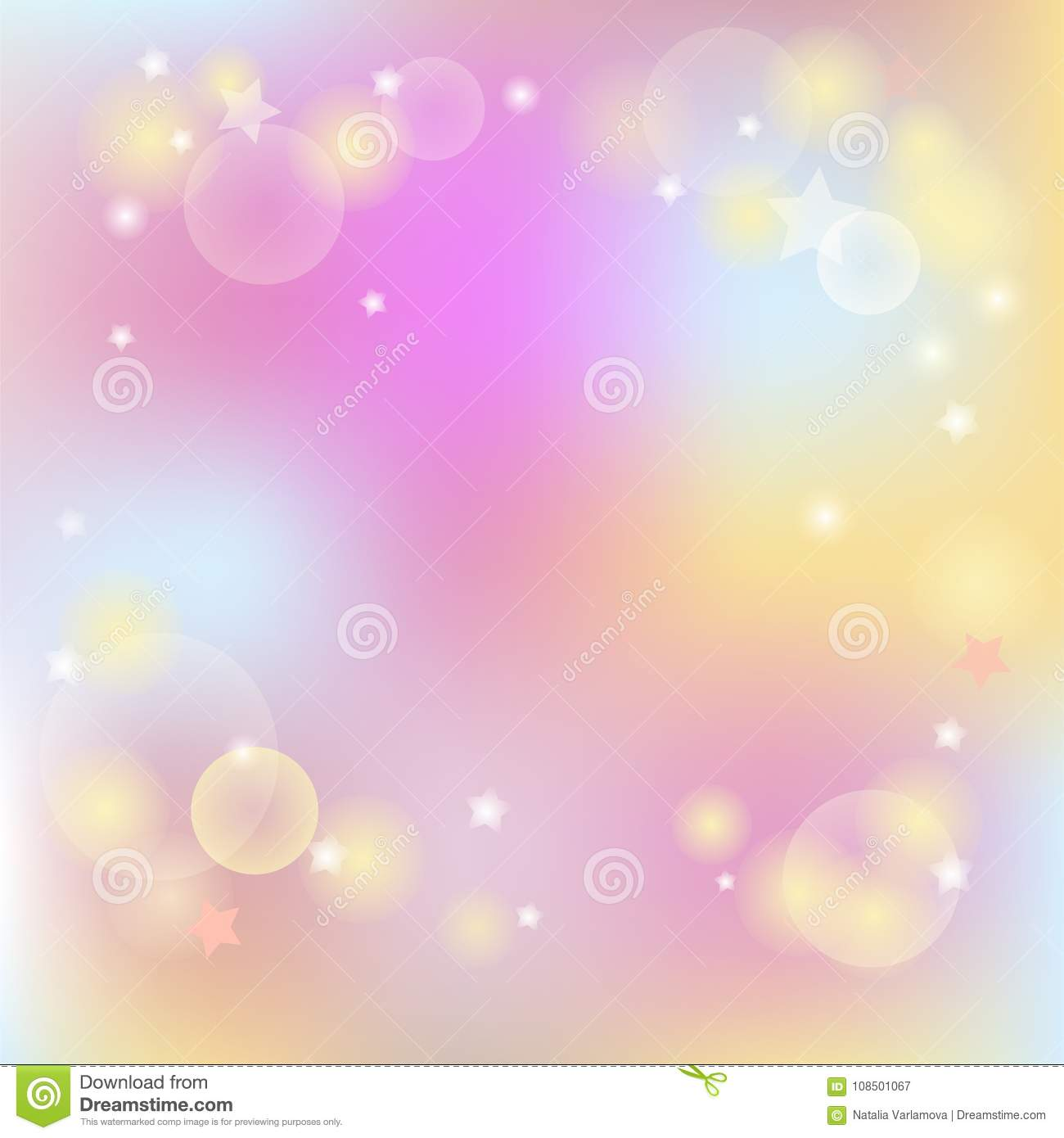 Modern pastel colored background.