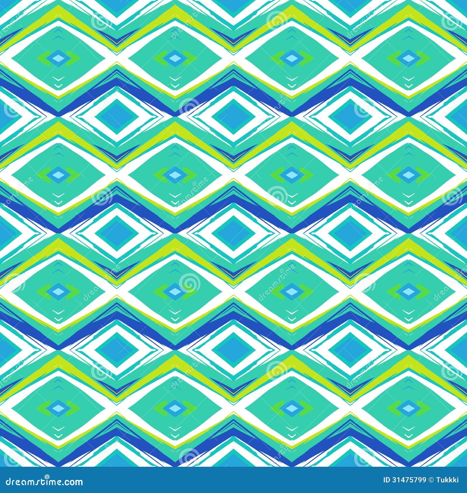 Wallpaper Pattern Modern Blue