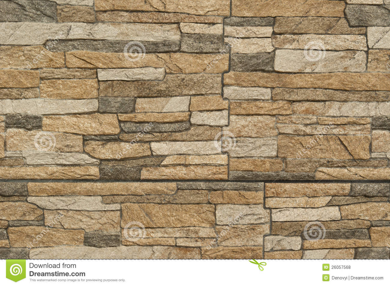 Modern Pattern Of Stone Wall Decorative Surfaces Stock Photo Image