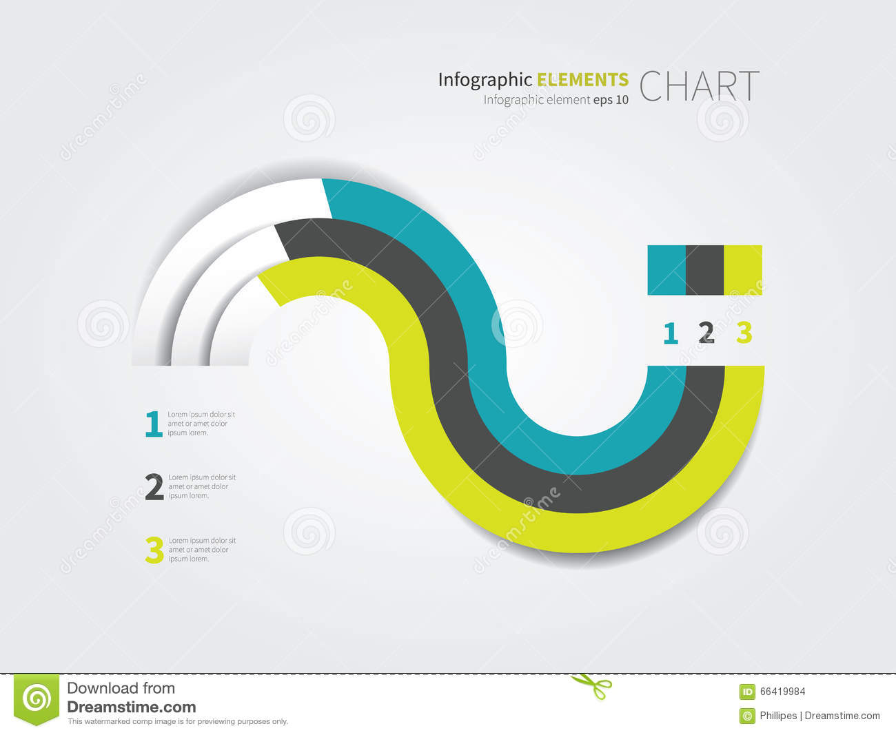 Modern pie chart with 3 options stock illustration illustration of modern pie chart with 3 options nvjuhfo Images
