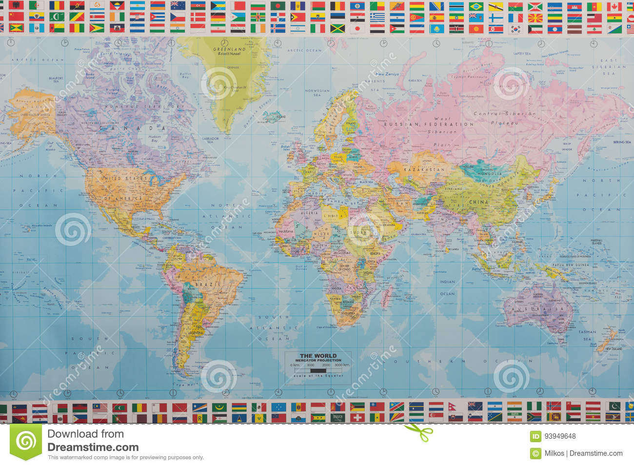 Modern political world map backdrop stock photo image of design download comp gumiabroncs Image collections