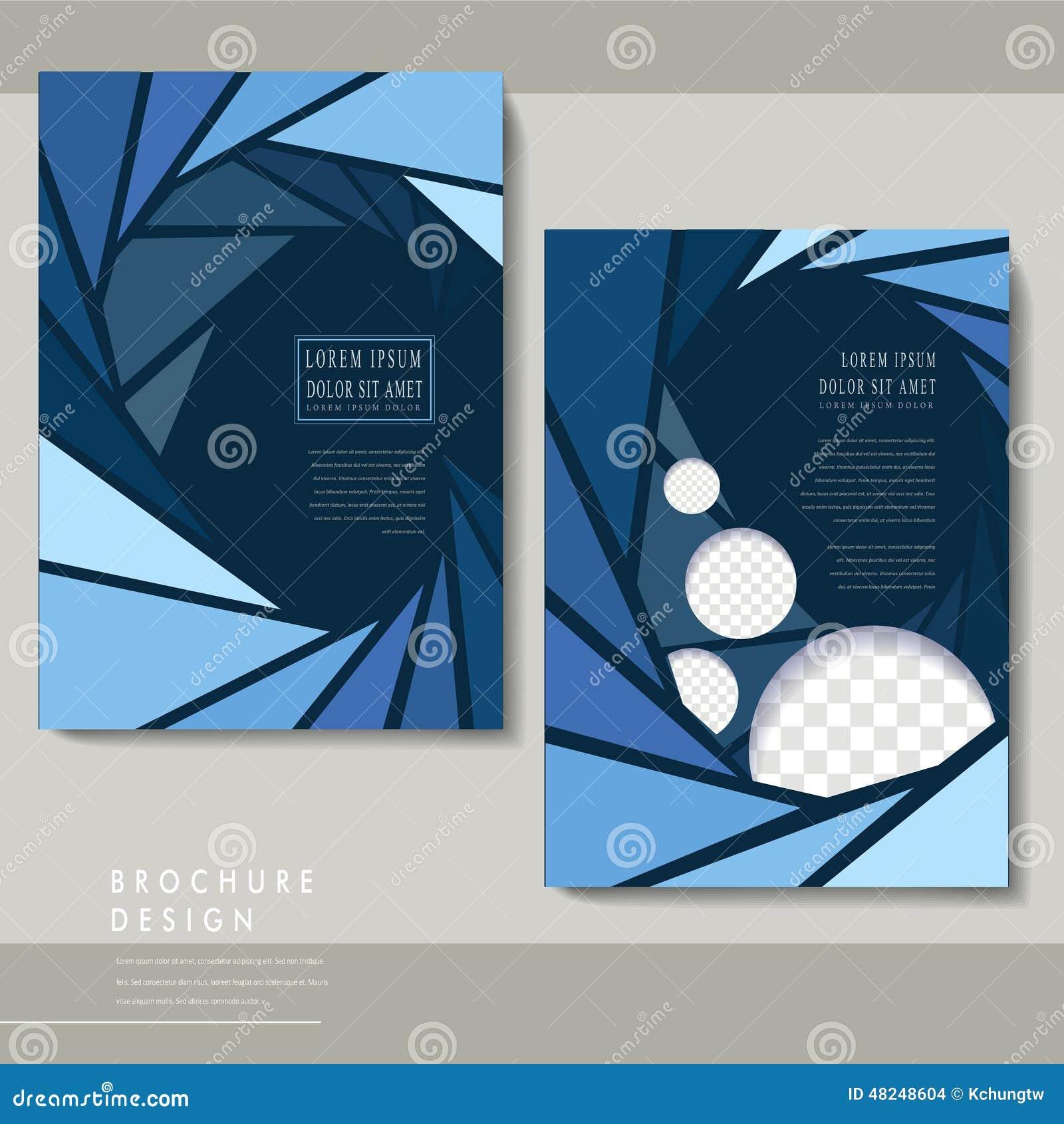 modern poster template set stock vector image of decor 48248604. Black Bedroom Furniture Sets. Home Design Ideas