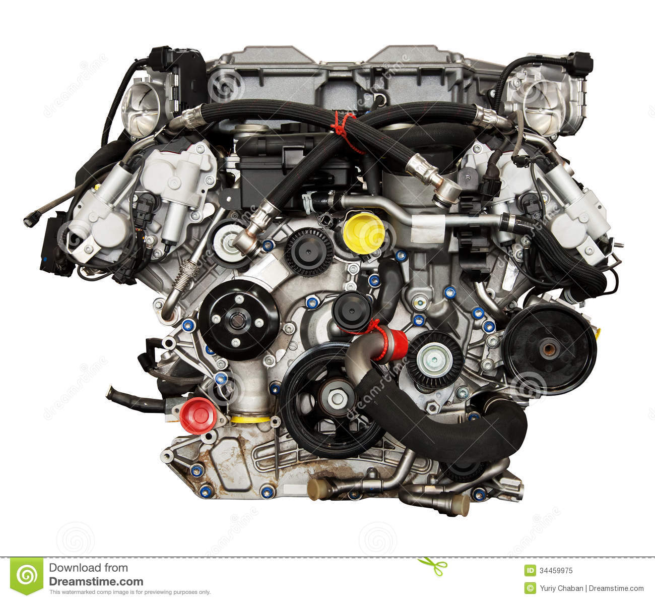 Modern powerful cars engine stock image image of image for Modern motors used cars